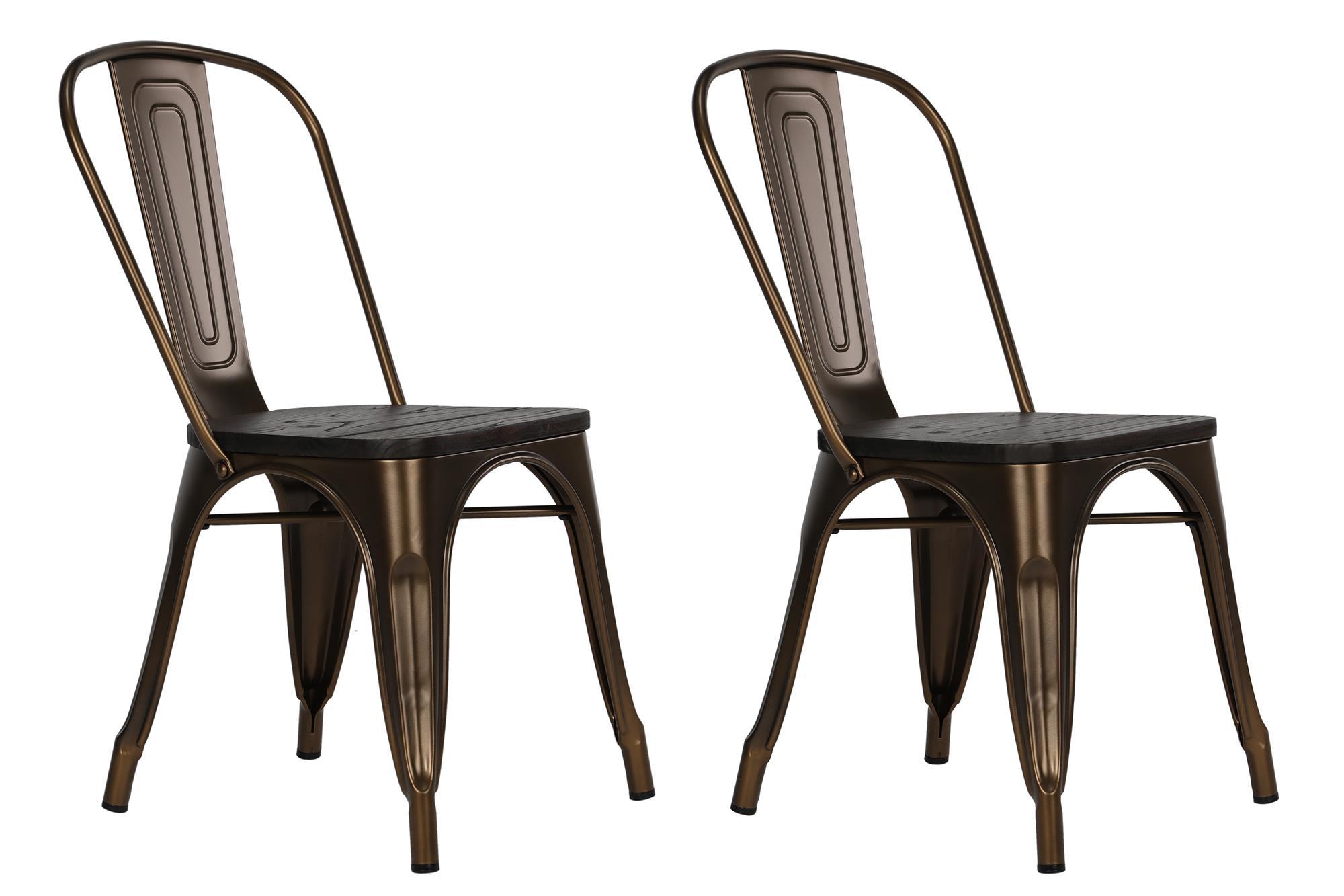 Prod Metal Dining Chairs Restaurant Uk Dorset
