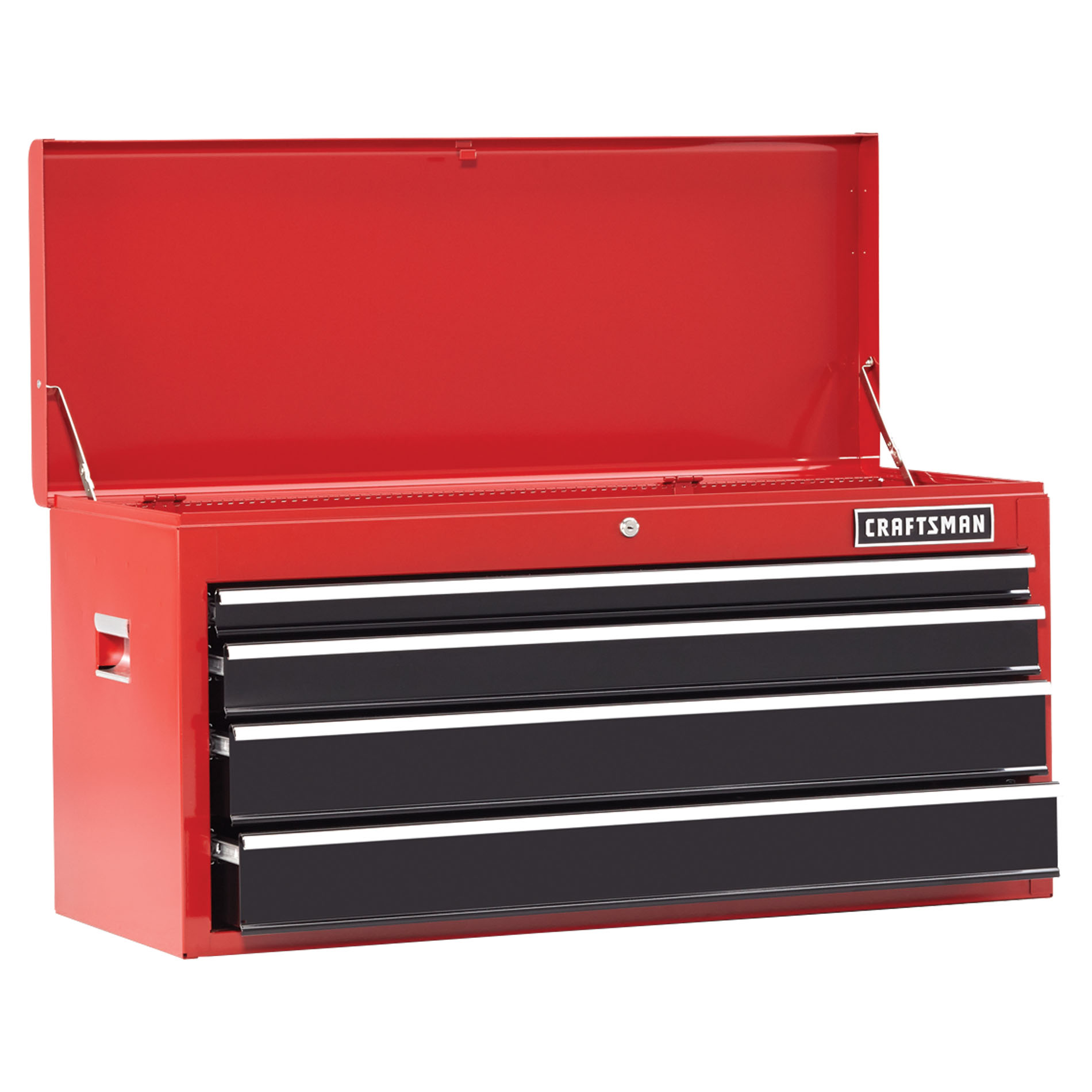 "Craftsman 41"""" 4-Drawer Heavy-Duty Top Chest - Red"