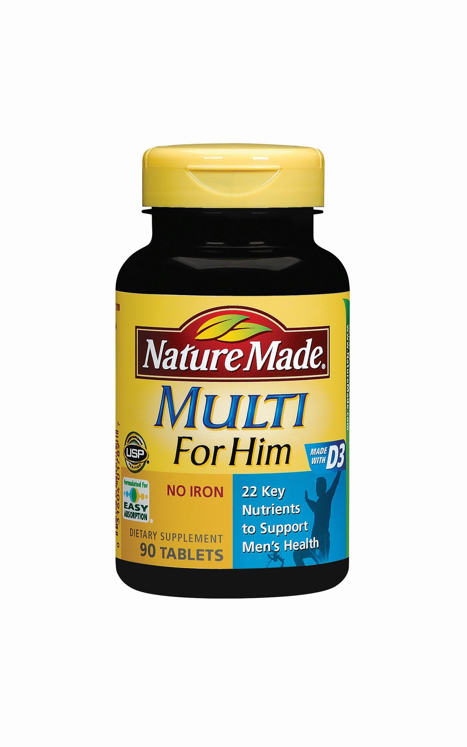 Nature made multi vitamins