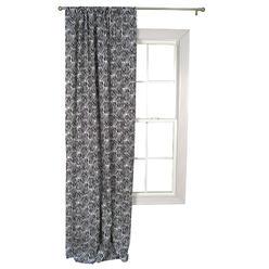 Trend Lab Black And White Zebra Window Drape