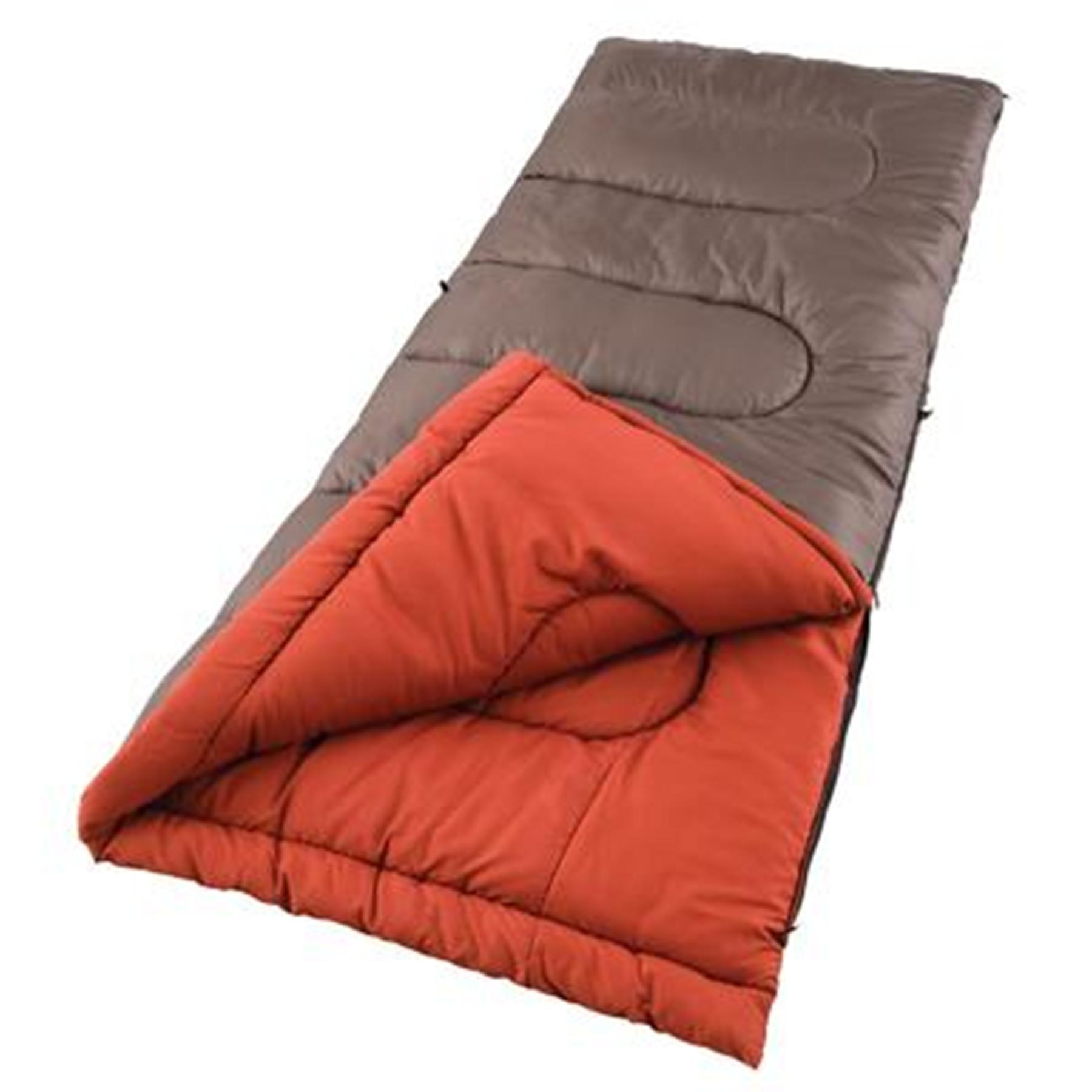 Coleman Sunset Falls Sleeping Bag - Brown