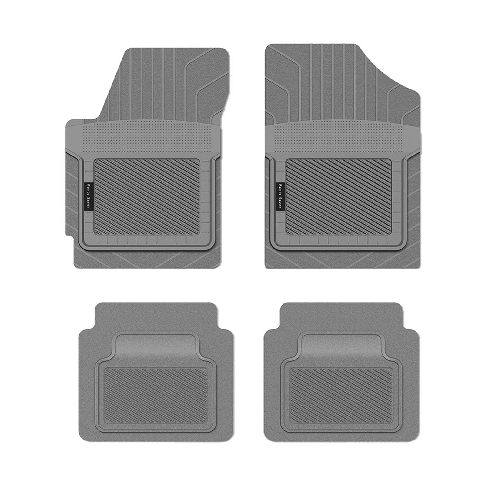 Koolatron Pants Saver Custom Fit Car Mat 4PC NISSAN VERSA NOTE 2016 Gray