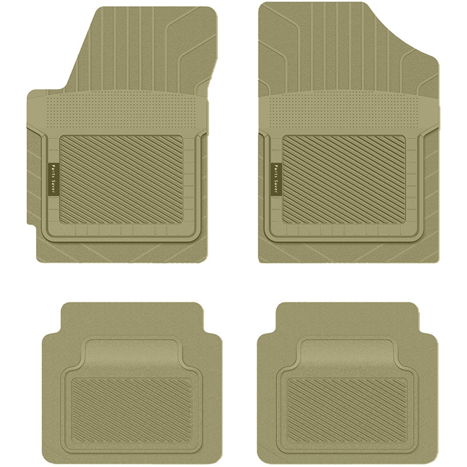 Koolatron Pants Saver Custom Fit Car Mat 4PC CHEVROLET EXPRESS G1500 2013 Tan PartNumber: 02845062000P KsnValue: 082V009223107000 MfgPartNumber: 0715133