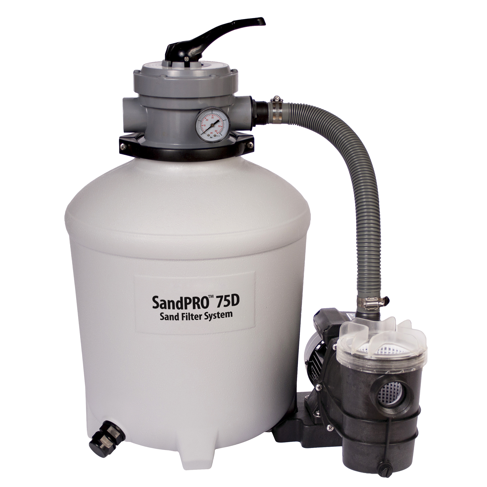 Blue Wave SandPro™ 75D Filter and 3/4 HP Pump
