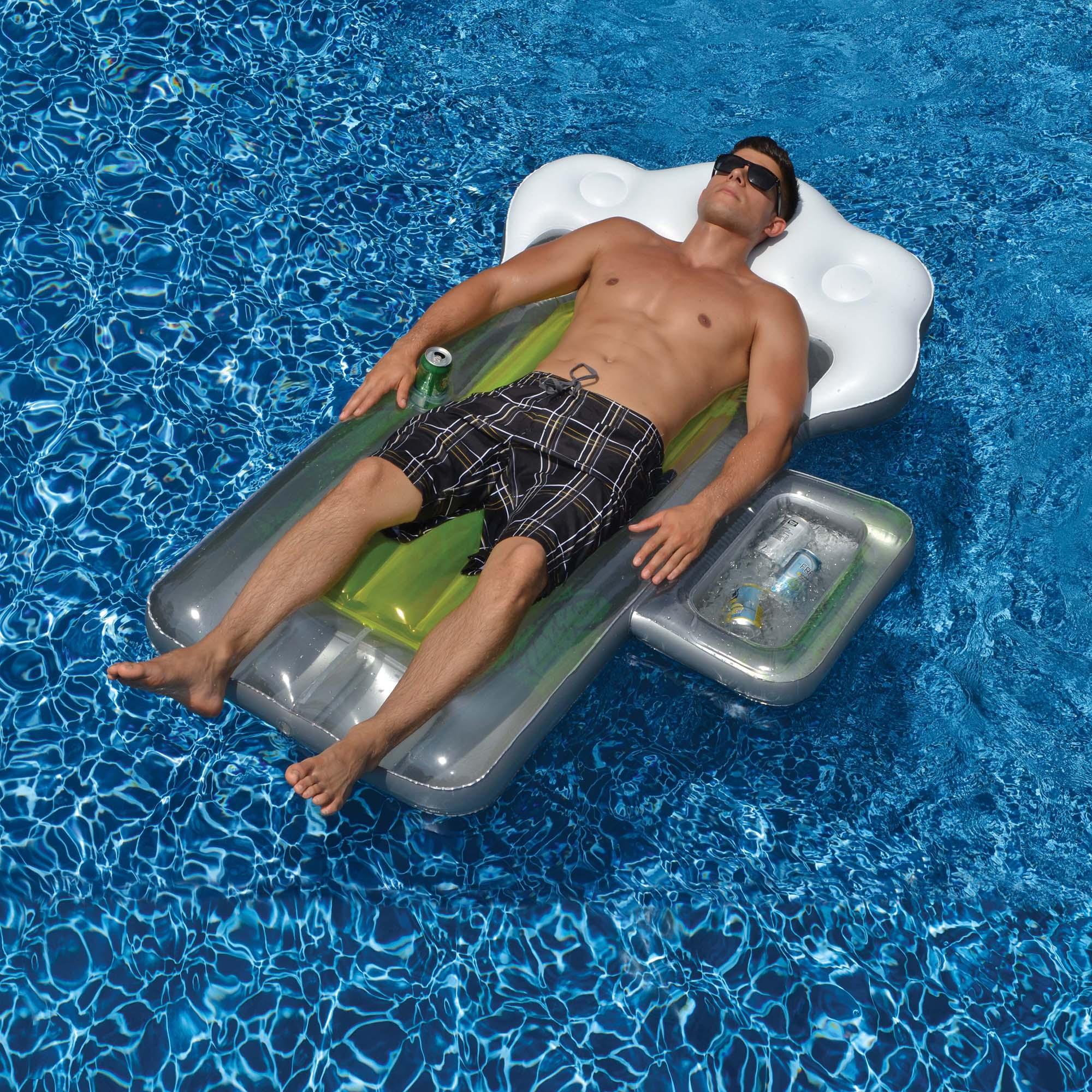 Swimline Beer Mug 72-in Inflatable Pool Float w/ Mini Cooler PartNumber: 05258551000P KsnValue: 7819914 MfgPartNumber: NT1765