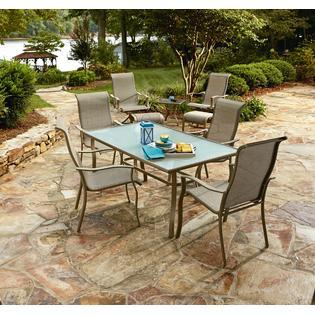 Essential Garden Brighton 9pc Patio Chair Bistro Set
