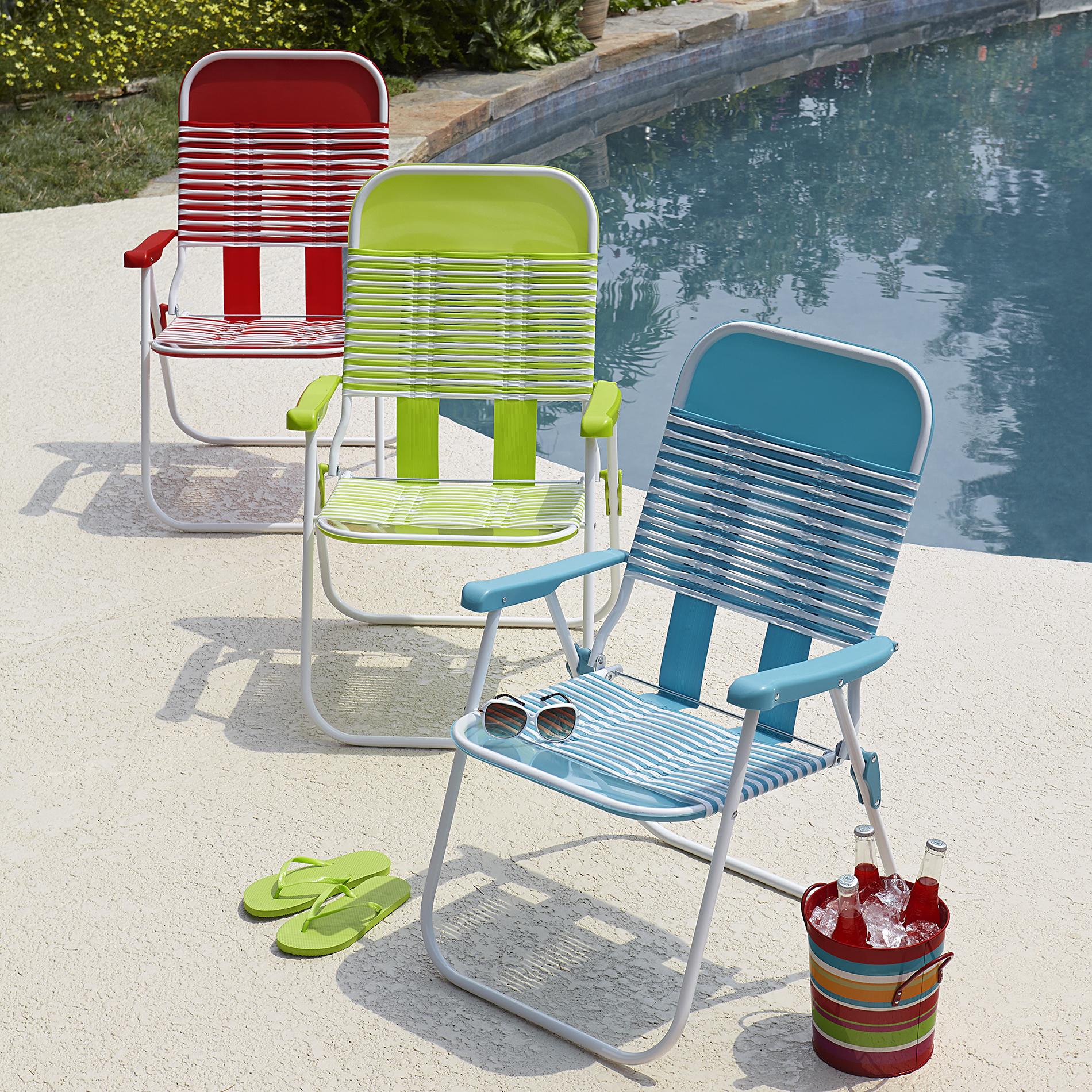 PVC Chair - Green