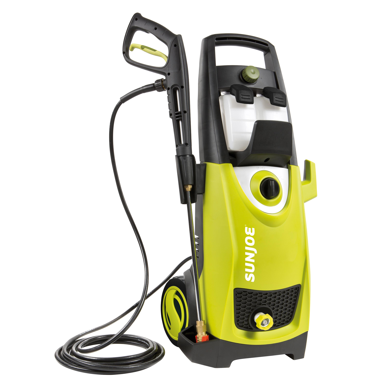 Image of Sun Joe SPX3000 Pressure Joe 2030 PSI Electric Pressure Washer, Chartreuse/Black/White/Green
