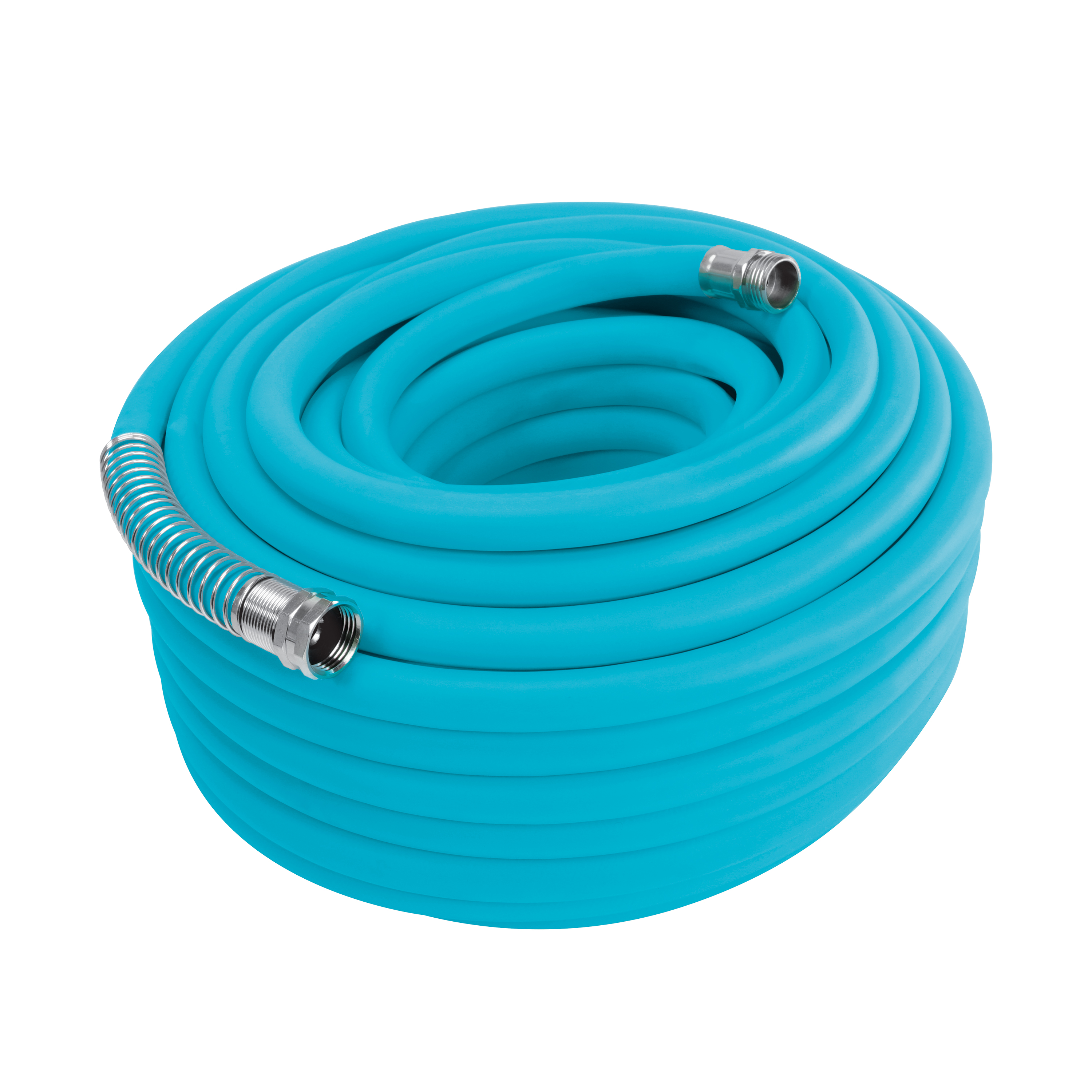 Image of Aqua Joe AJPGH100-DWS Hybrid Polymer FLEX Kink Free Hose | 5/8 In | 100 Ft.