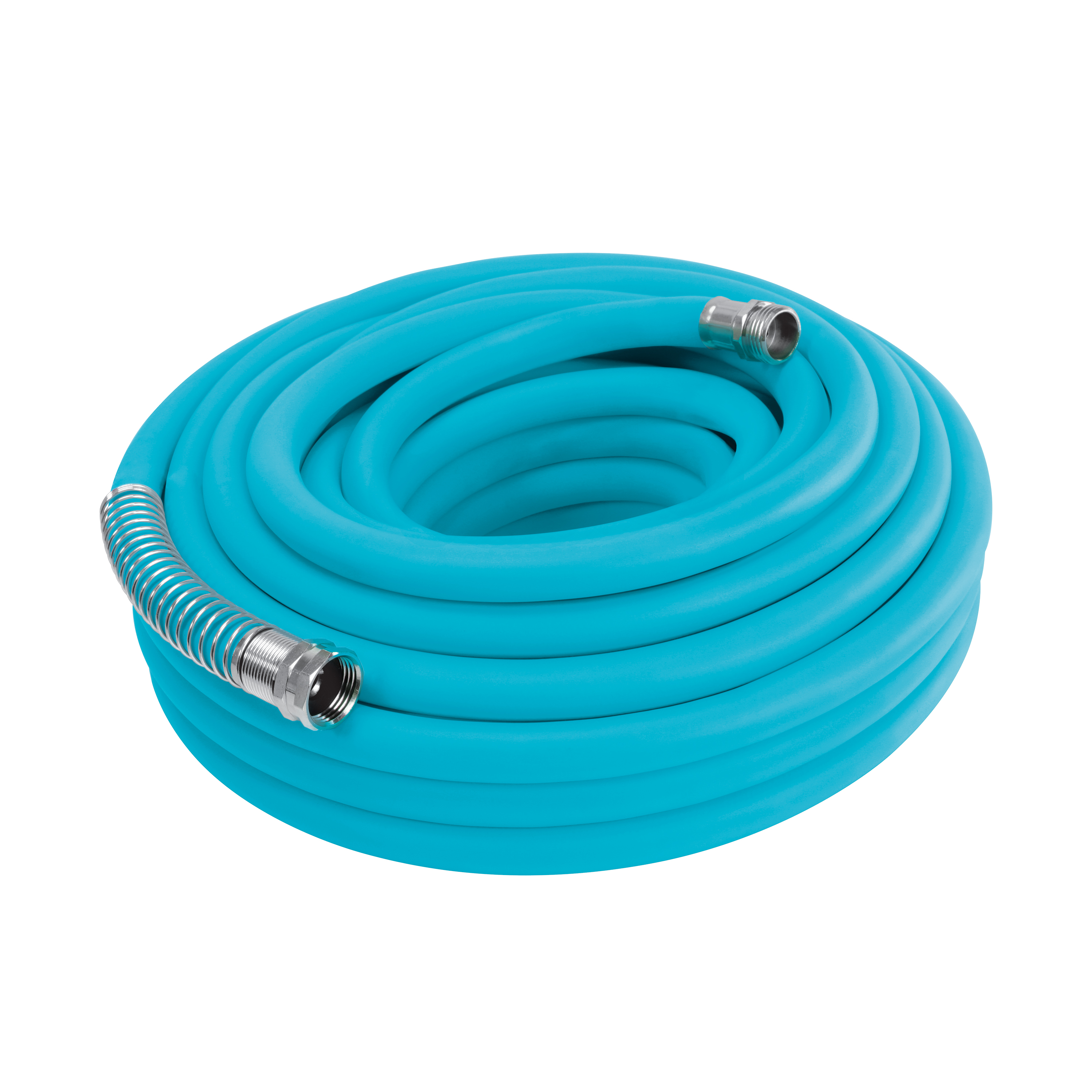 Image of Aqua Joe AJPGH50-DWS Hybrid Polymer FLEX Kink Free Hose | 5/8 In | 50 Ft. | Lead Free