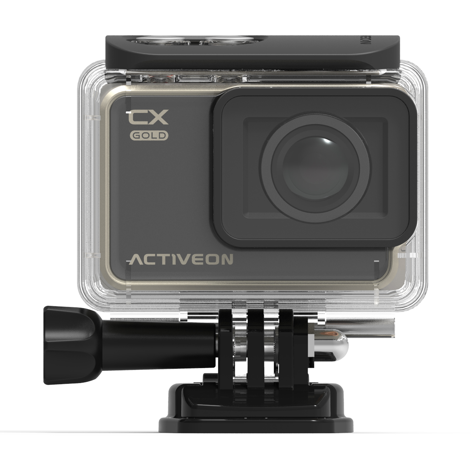 ACTIVEON 16-Megapixel Action Camera CX - Gold