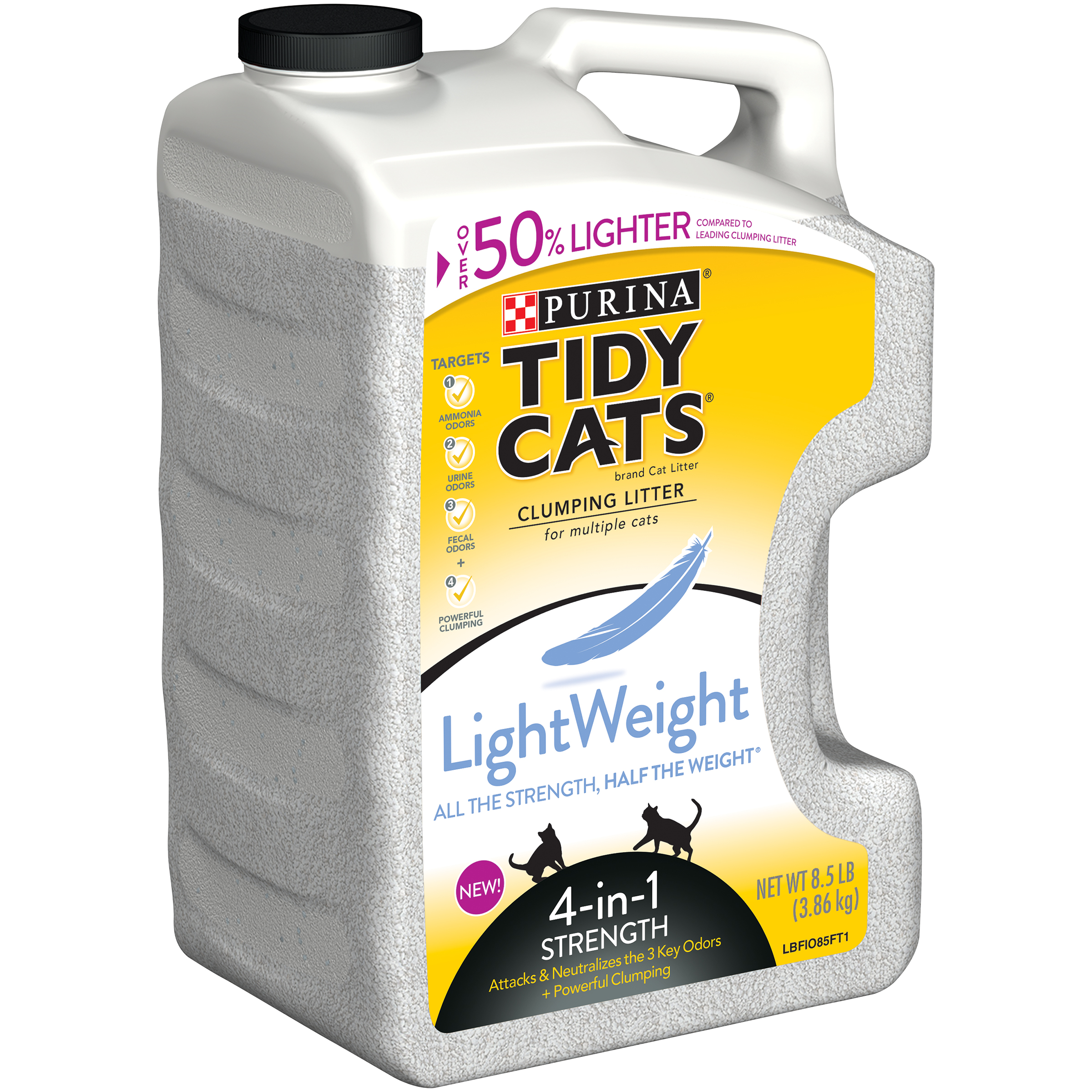 Tidy Cats Clumping Litter LightWeight 4 in 1 Strength for