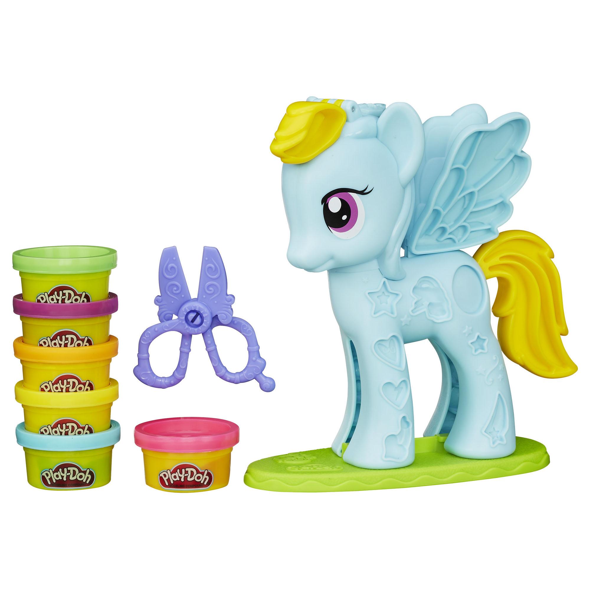 Play-Doh My Little Pony Rainbow Dash Style Salon Playset 004W006619519002