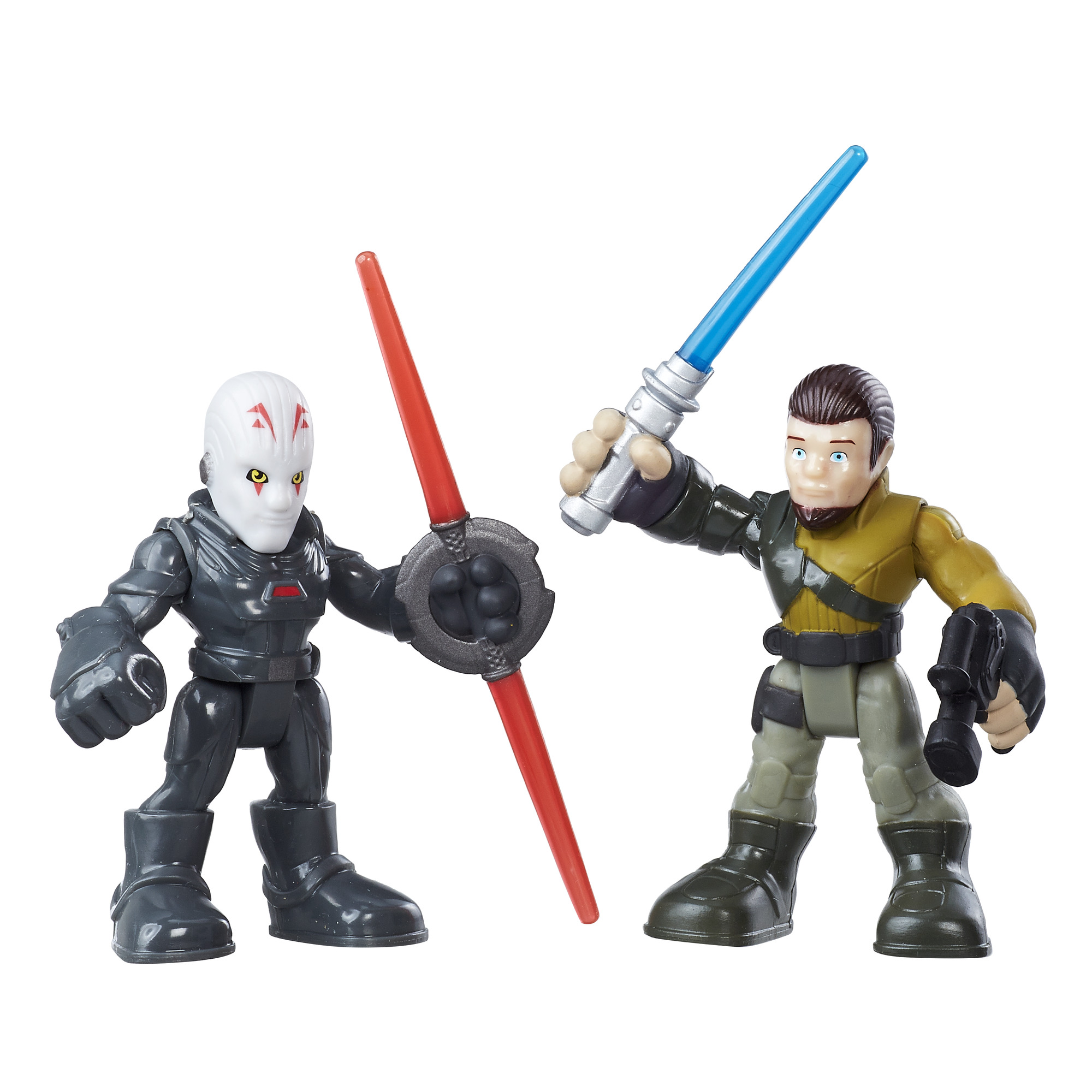 Star Wars Galactic Heroes 2.5 inch Kanan Jarrus and The Inquisitor PartNumber: 004W006715463008P