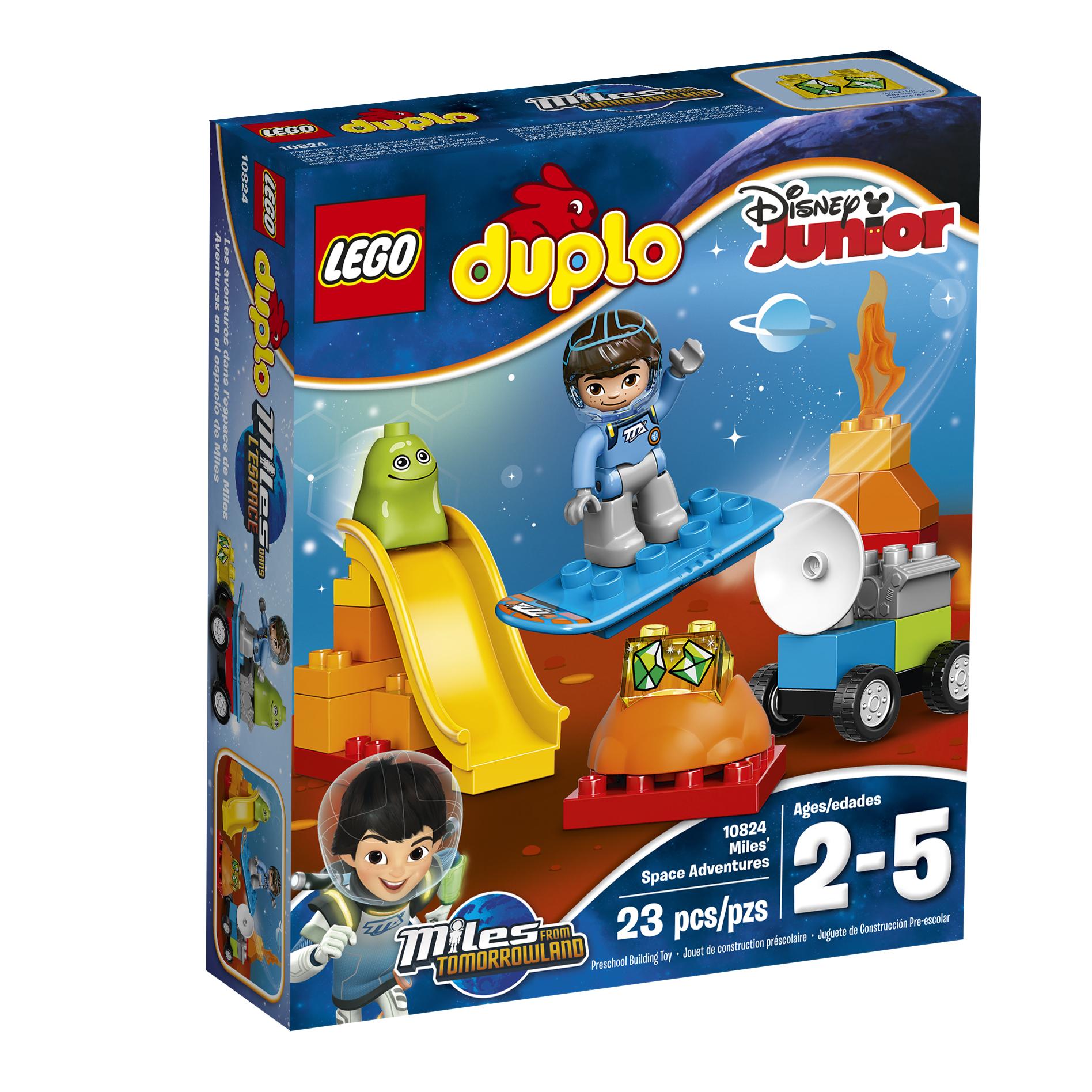 LEGO DUPLO® Disney Junior Miles' Space Adventures #10824 PartNumber: 004W009110257001P KsnValue: 9110257 MfgPartNumber: 10824