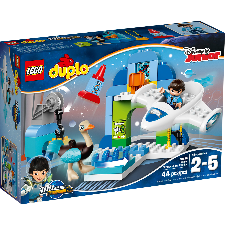 LEGO DUPLO Miles Miles' Stellosphere Hangar #10826