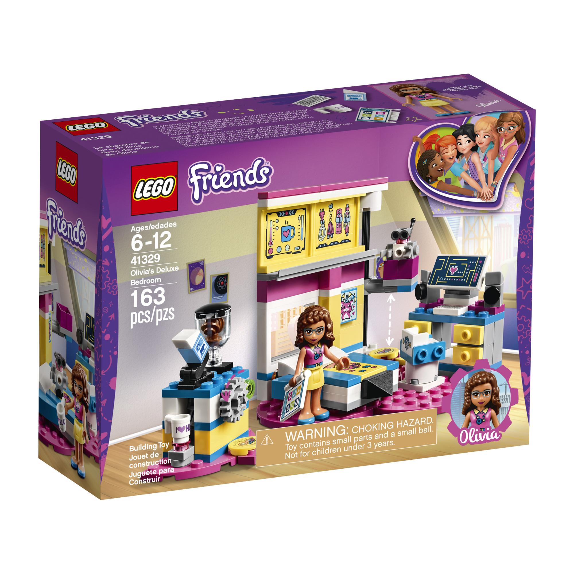LEGO Friends Olivia's Deluxe Bedroom 41329 PartNumber: A015651351 KsnValue: 7739413 MfgPartNumber: 6212829