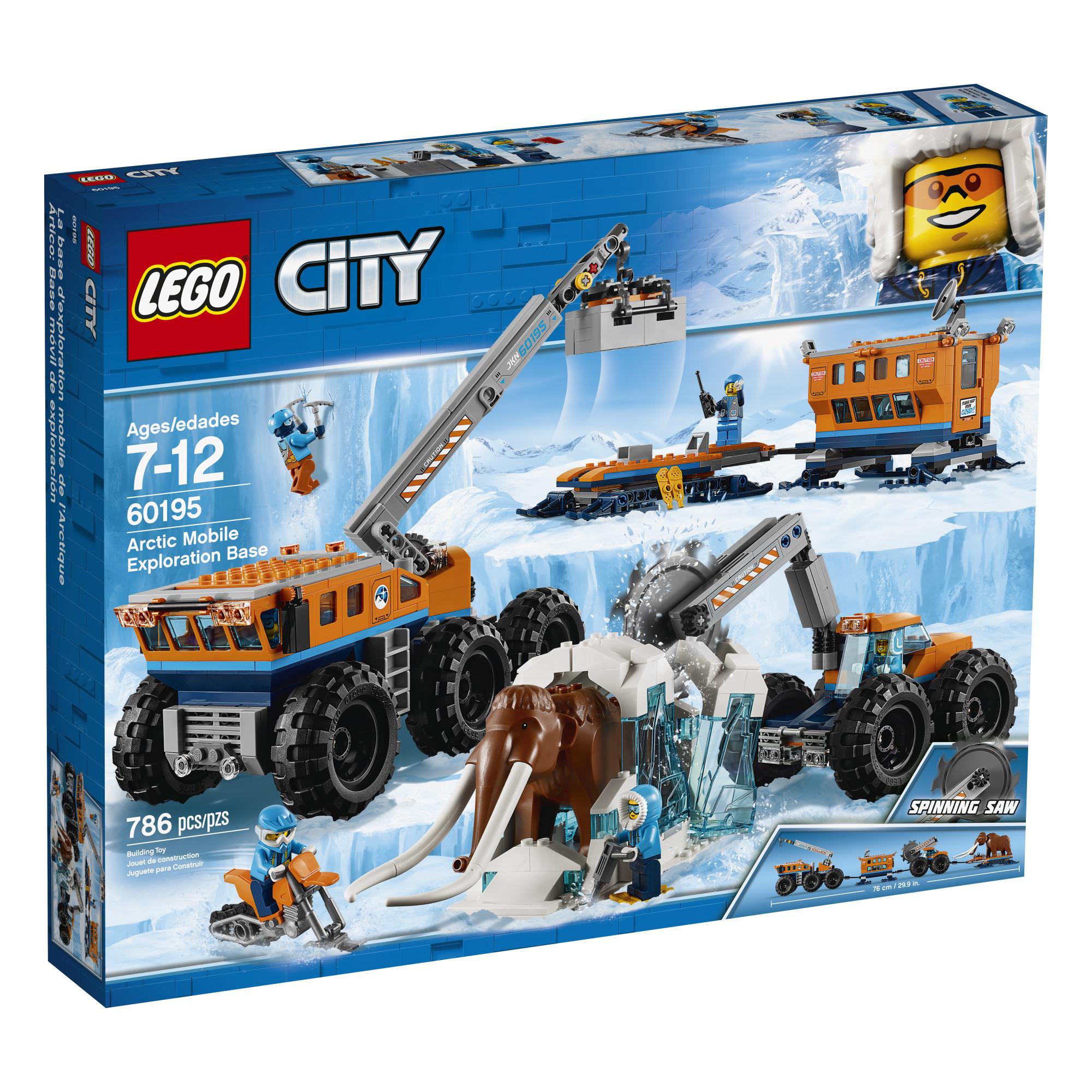 LEGO City Arctic Mobile Exploration Base 60195 im test