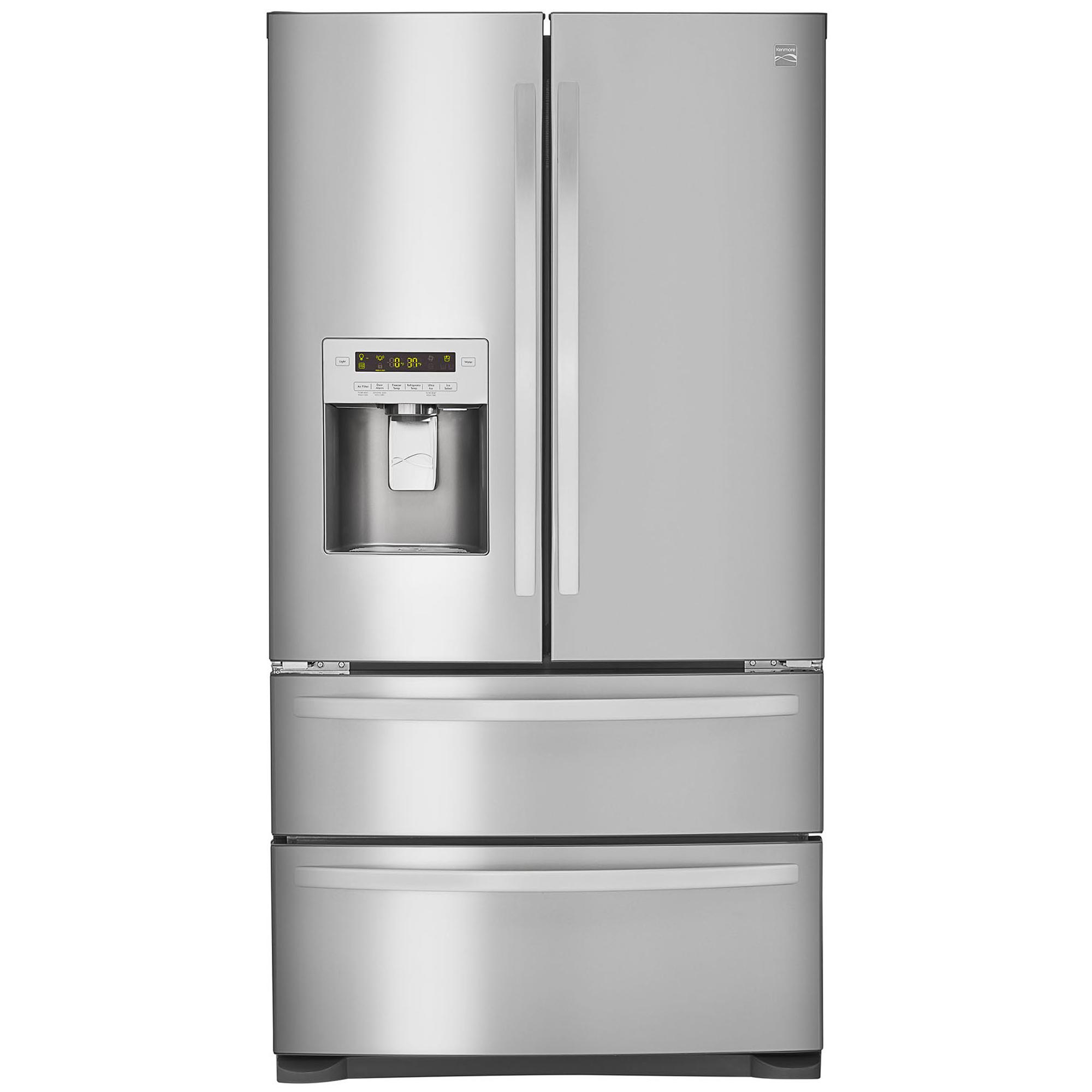 4 Door French Door Refrigerator U2013 Stainless Steel