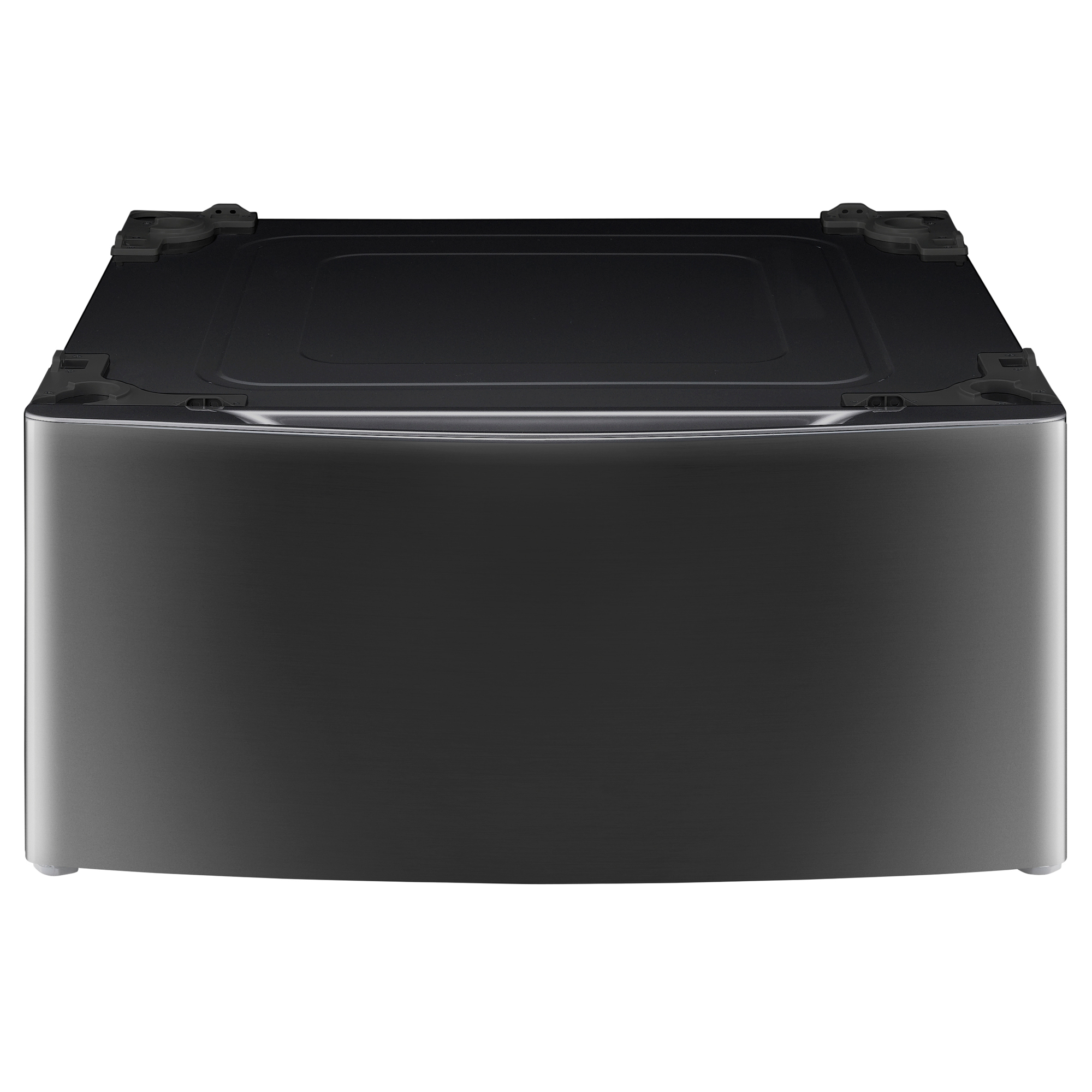 "Image of ""LG SIGNATURE WDP5K 13.9"""" Laundry Pedestal - Black Stainless Steel"""