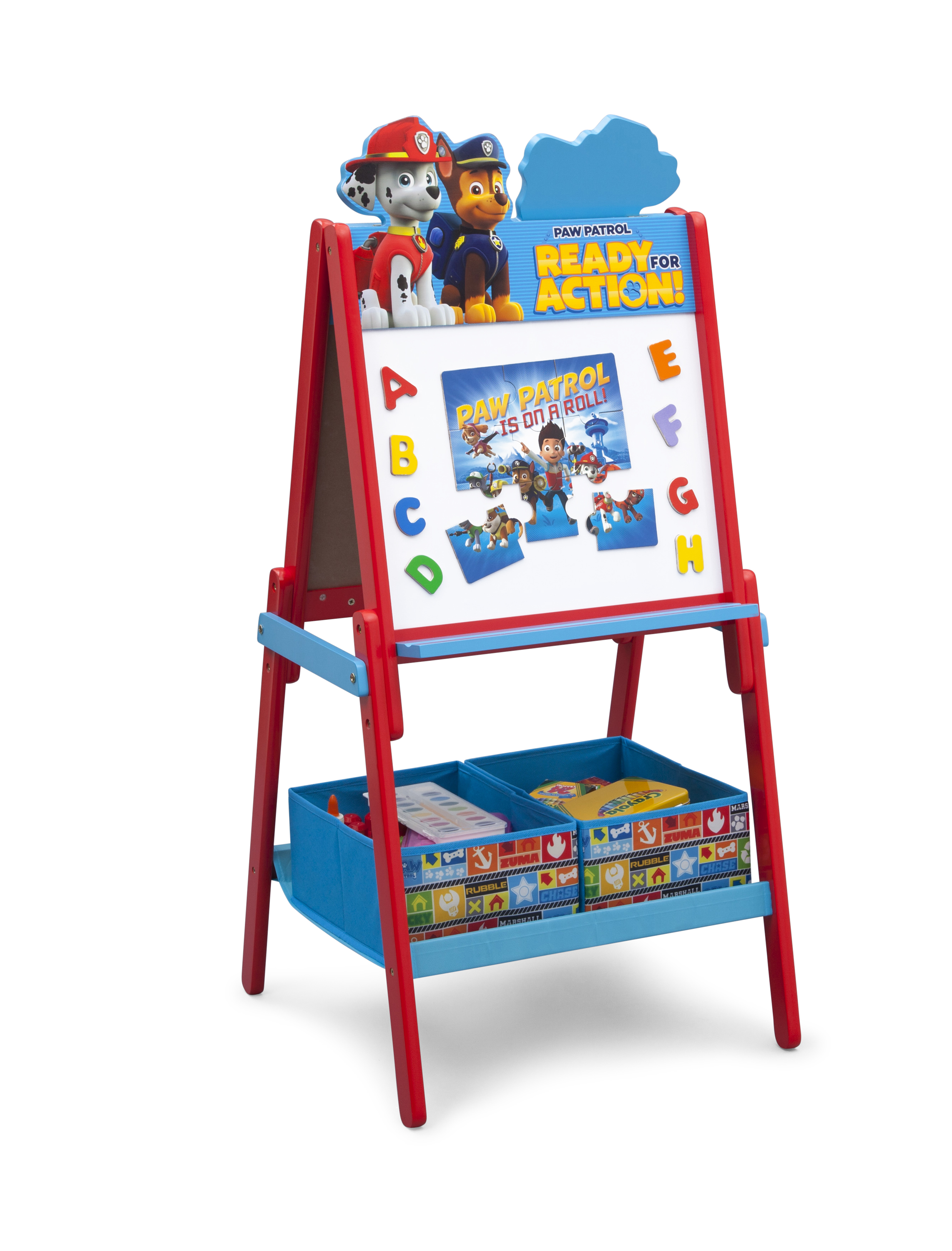 Superbe Delta Children PAW Patrol Wooden Double Sided Activity Easel With Storage    Toys U0026 Games   Arts U0026 Crafts   Easels U0026 Art Desks