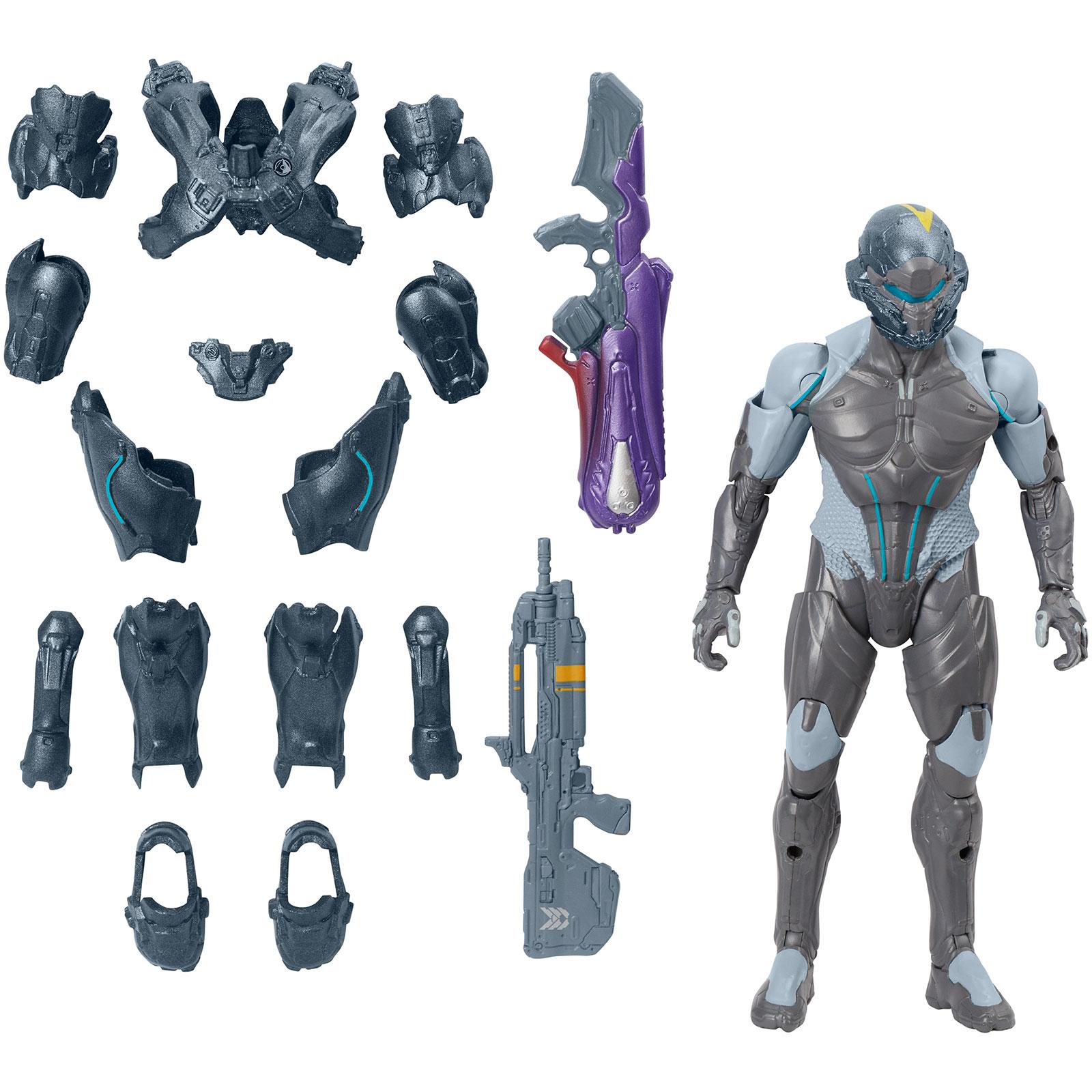 Mattel, Halo 6 inch Action Figure - Spartan Locke PartNumber: 004W002775872003P