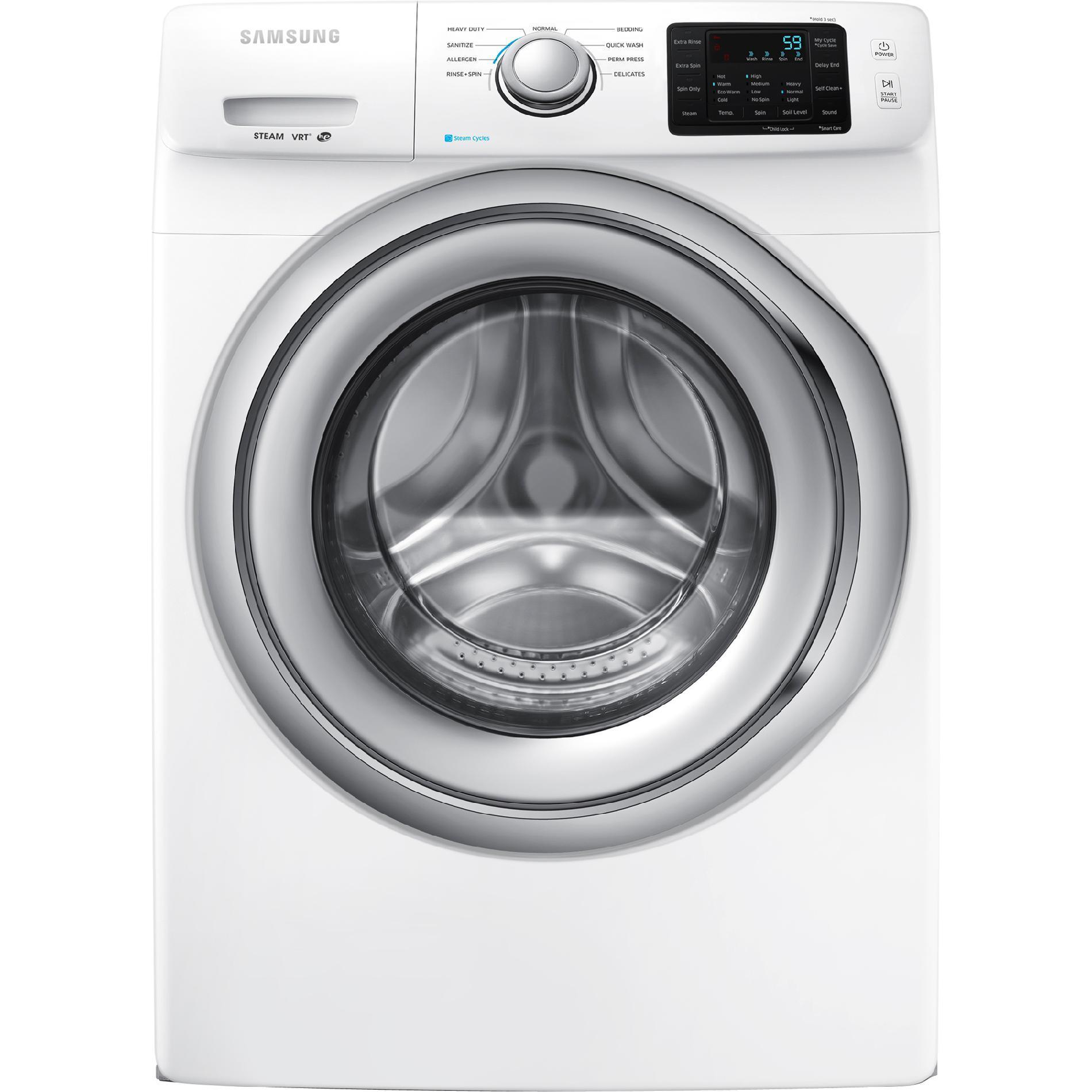 frontload washer w steam washing