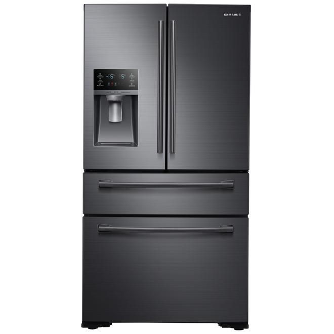 Samsung Rf30kmedbsgaa 297 Cu Ft Capacity 4 Door French Door