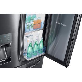 Samsung Rf28jbedbsg 28 Cu Ft Capacity 4 Door French Door