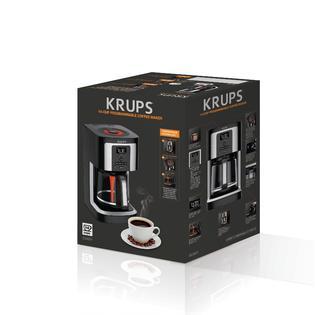 Krups Ec322050 14 Cup Thermobrew Coffee Maker Black