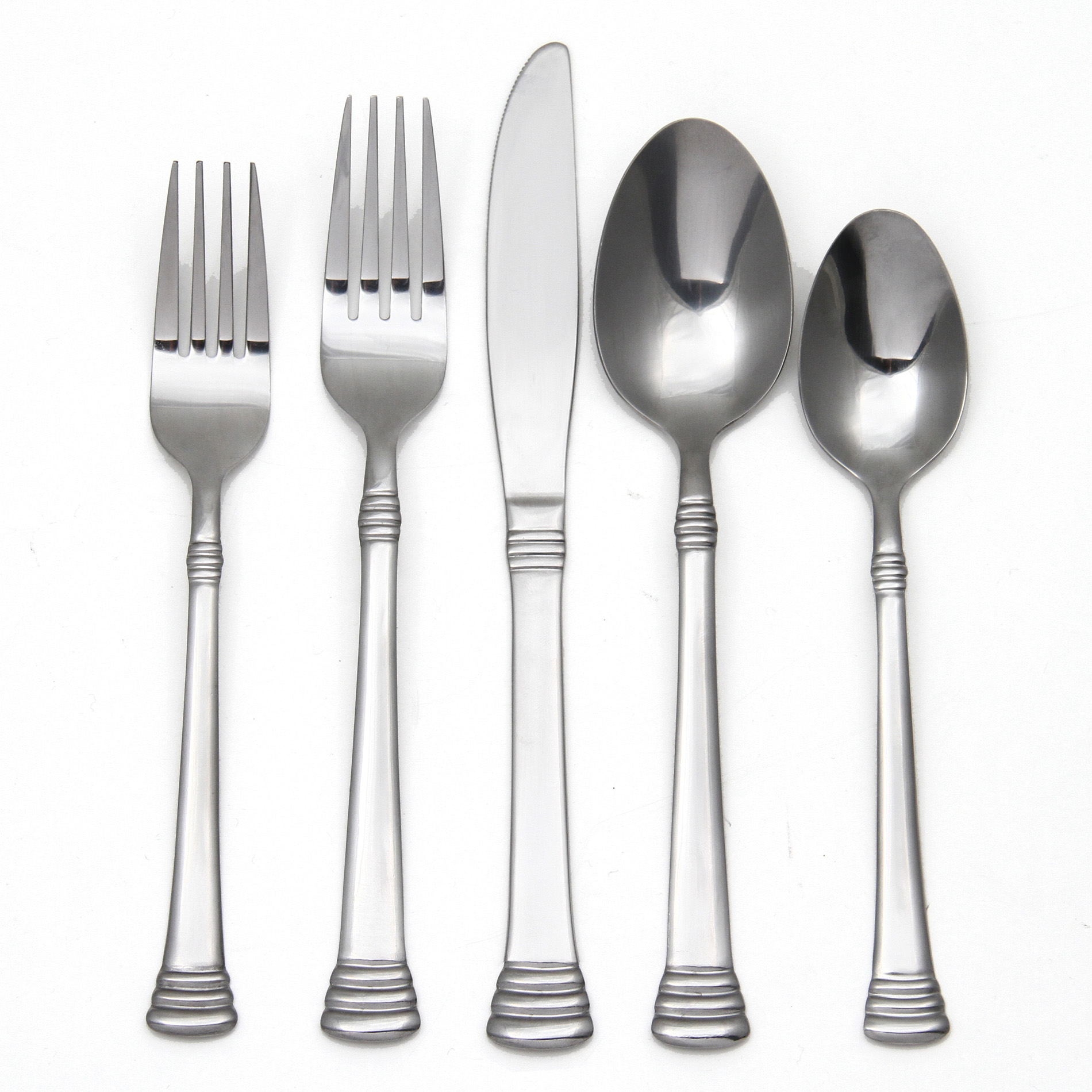 Image of Essential Home 20Pc Overbrook Flatware Set
