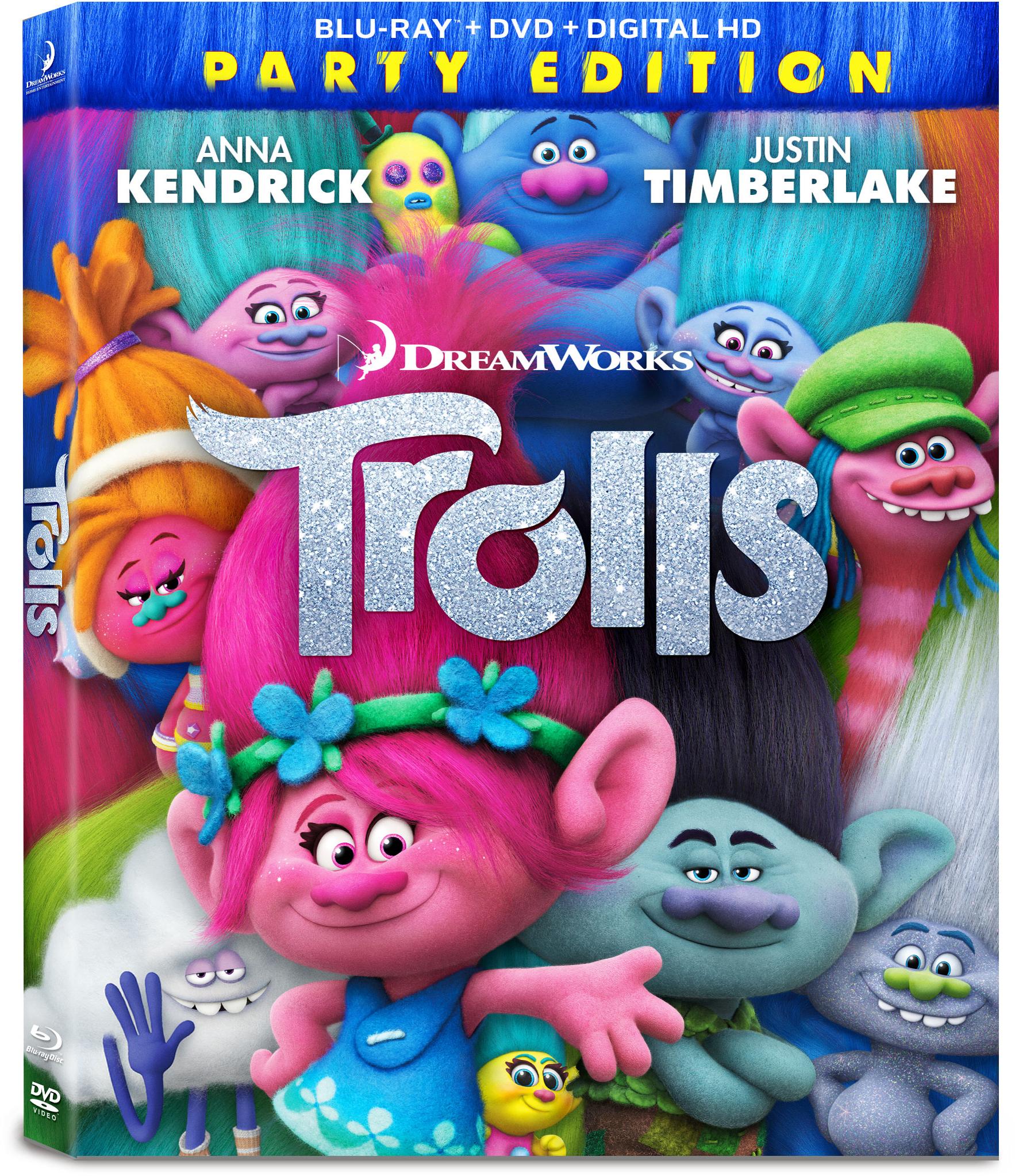 Trolls (Blu-ray / DVD / Digital HD) PartNumber: 017W002500778001P KsnValue: 017W002500778001 MfgPartNumber: D103470