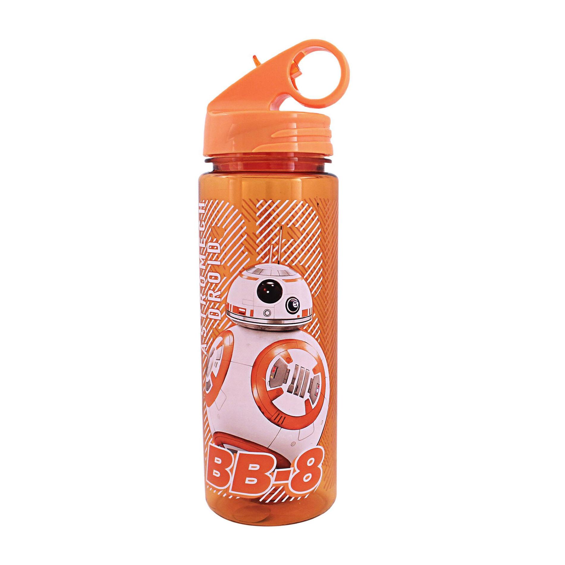 Star Wars 20oz. Episode 7 BB-8 Tritan Water Bottle with Flip-Up Spout, Orange im test