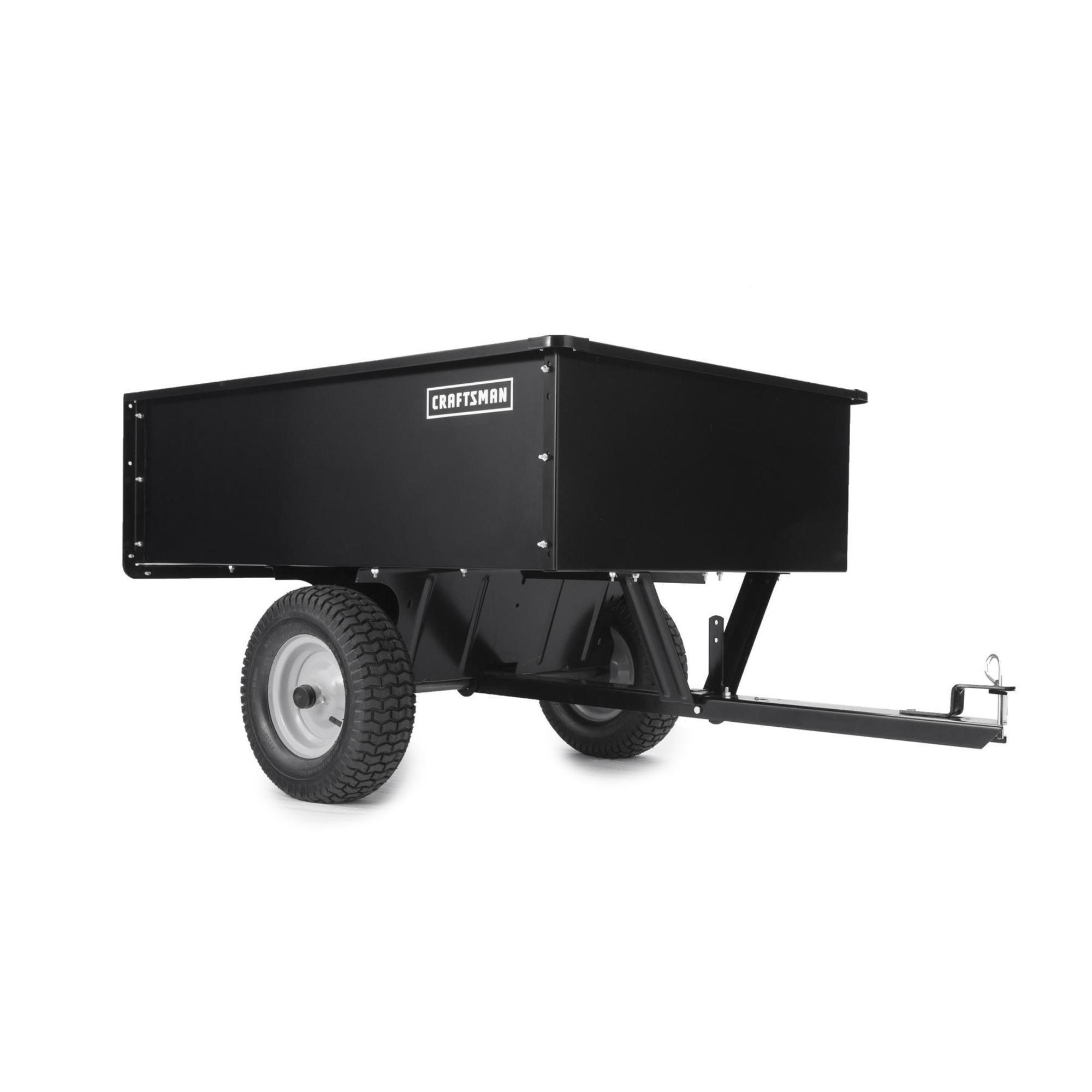 Craftsman 17 cu. ft. Steel Dump Cart