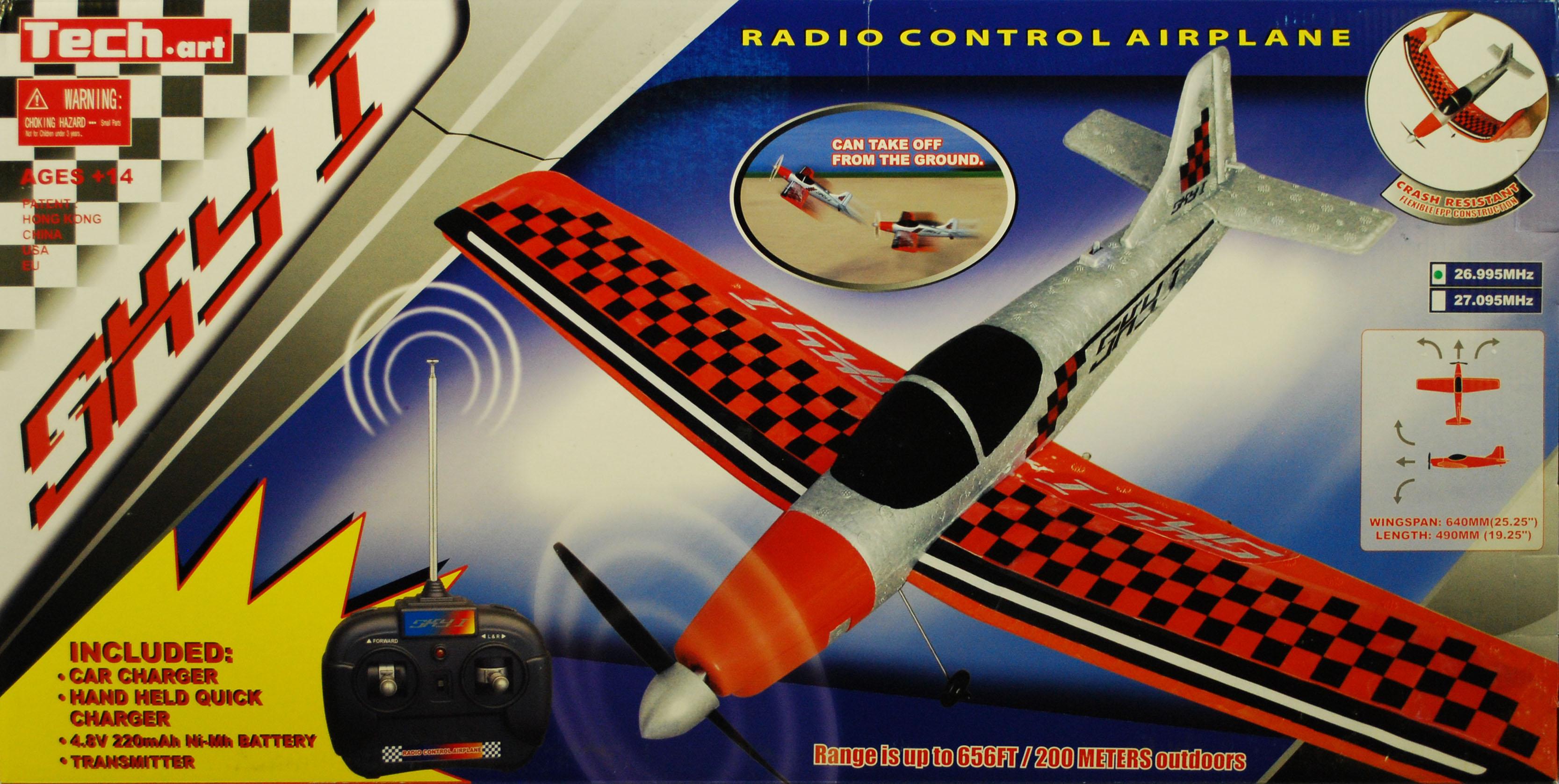 Golden Bright Radio Control Sky1 Airplane -Red PartNumber: 05240433000P KsnValue: 6357014 MfgPartNumber: 9803