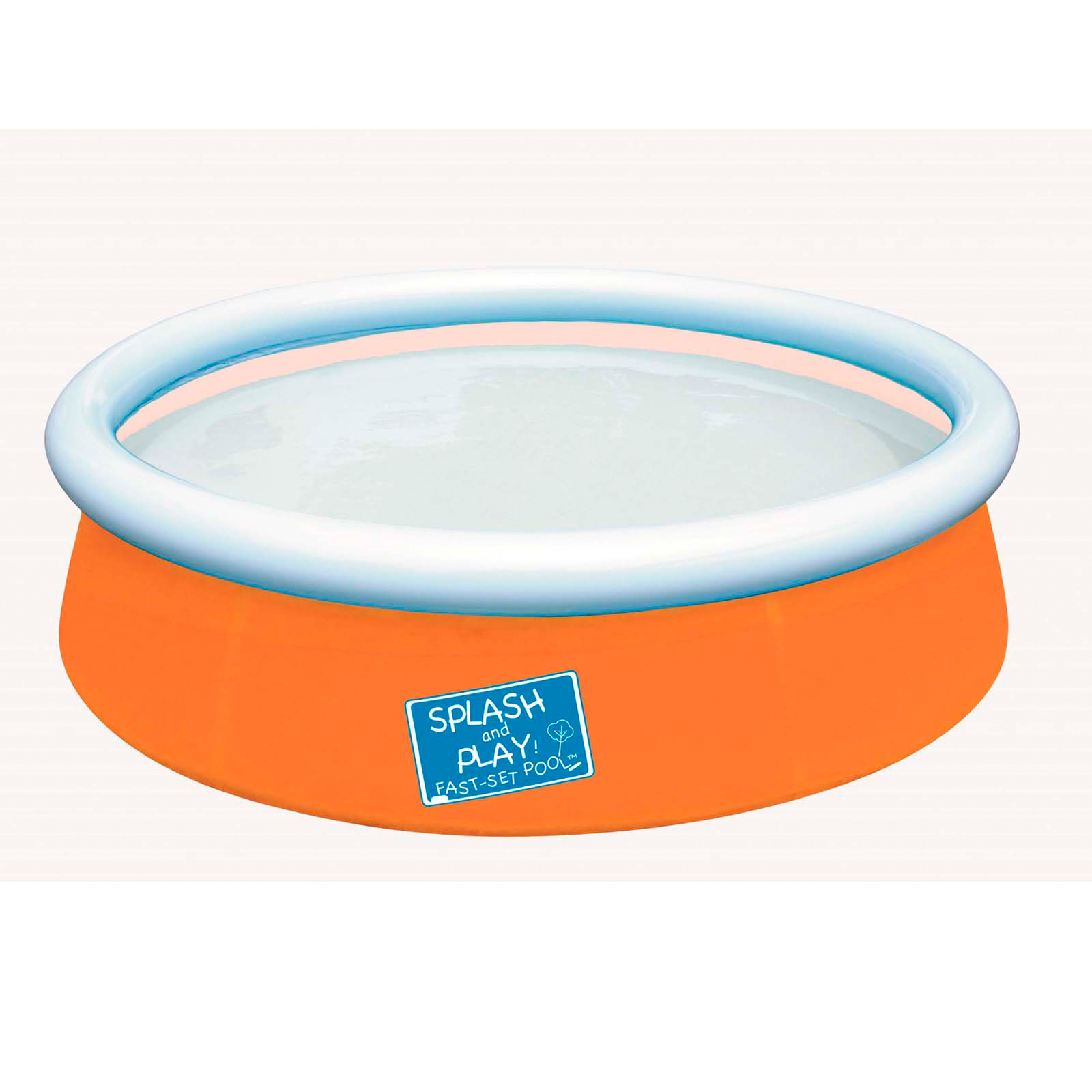 Bestway My First Fast Set Orange Pool Toys Games Swimming Pools Accessories Swimming Pools