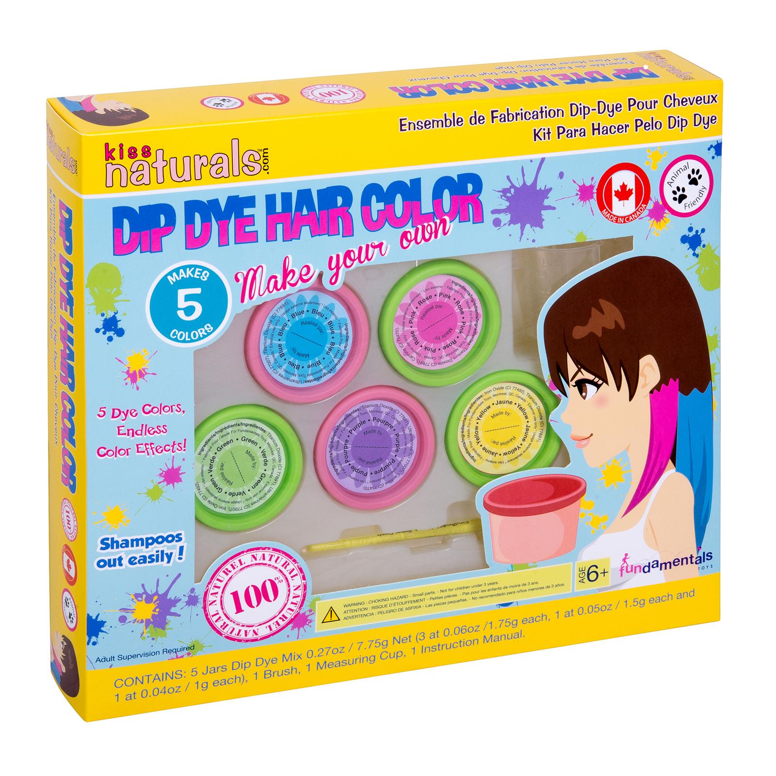 Fundamentals Toys Kiss Naturals DIY Hair Chalk Making Kit 05255414000