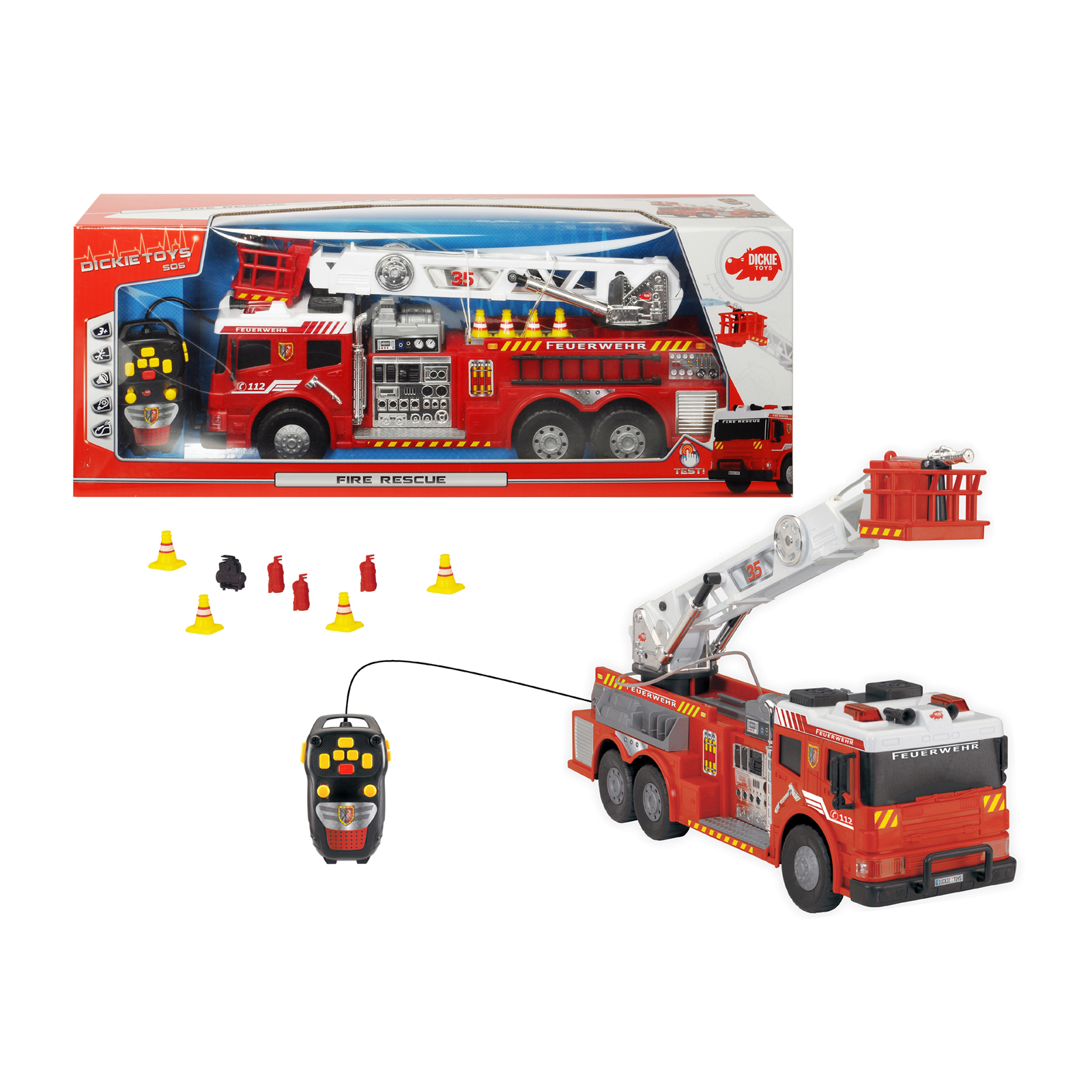 Toy Fire Trucks