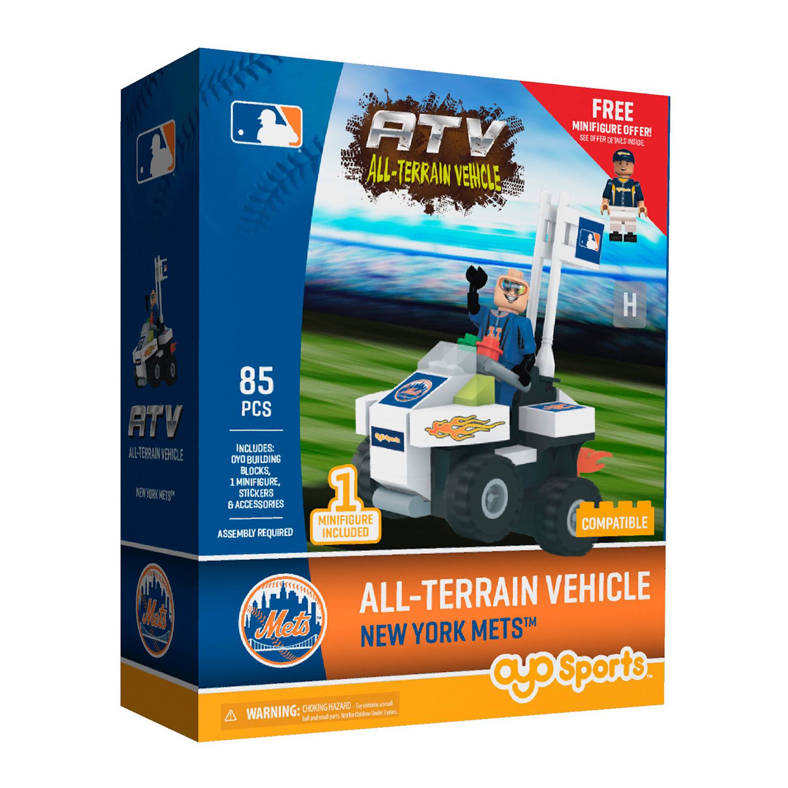 OYO Sports MLB All-Terrain Vehicle with Super