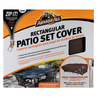 Mr Bar B Q Rectangular Table Cover 114 Inches