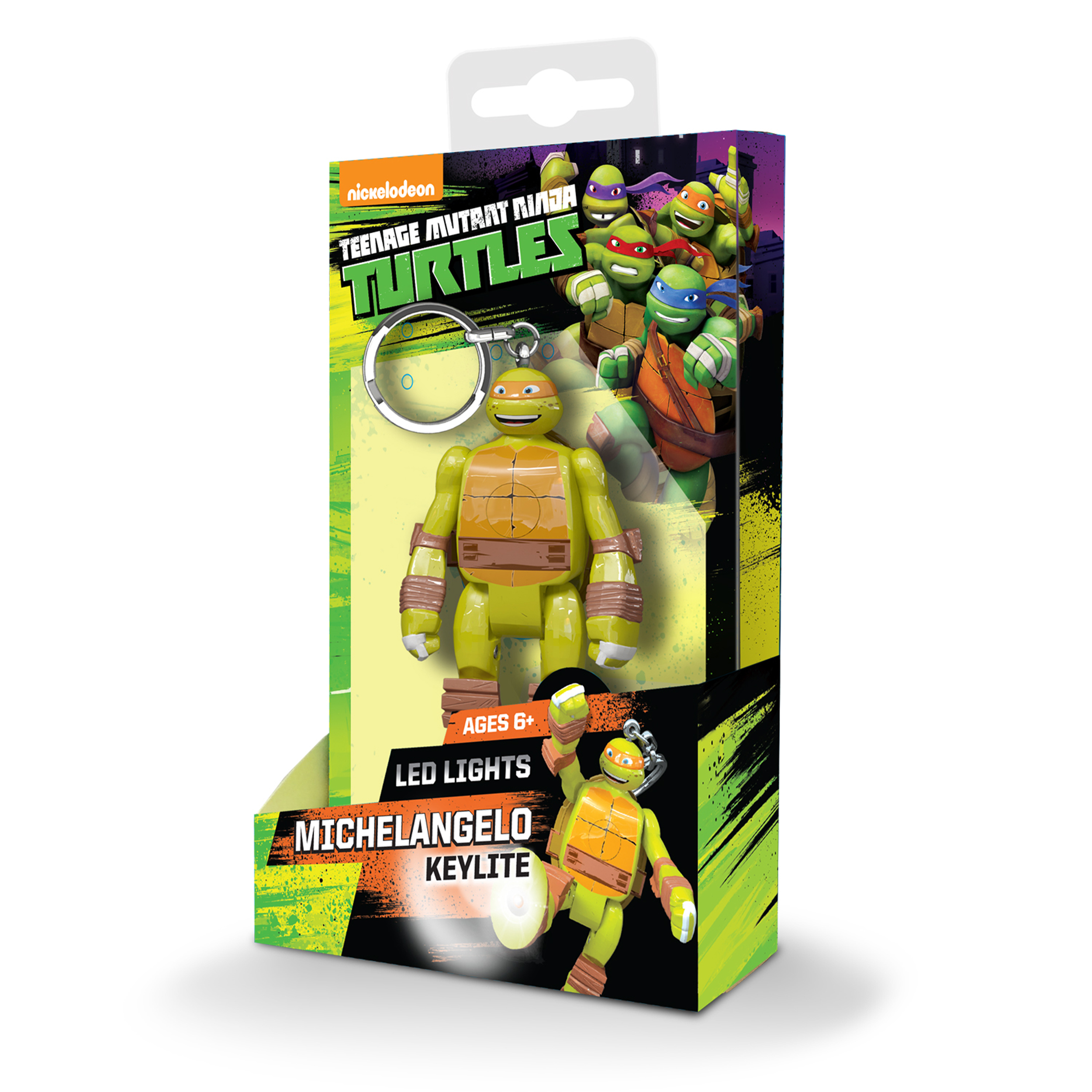 Nickelodeon TMNT Michelangelo Key Light PartNumber: 05257265000P KsnValue: 05257265000 MfgPartNumber: 188260