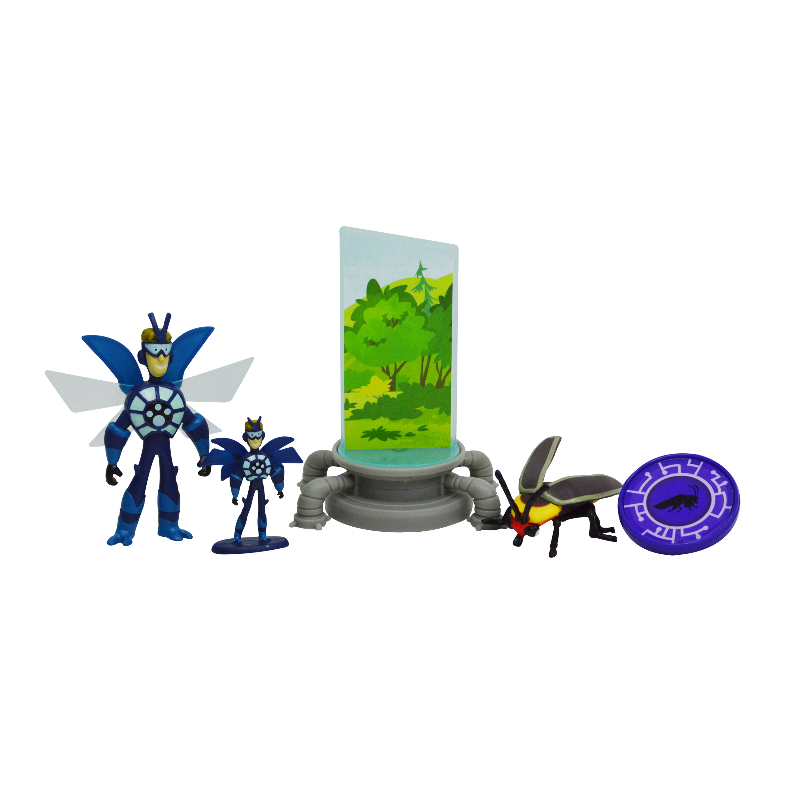 Wicked Cool Toys Wild Kratts Miniaturizer Deluxe Action Figure Set PartNumber: 004V008910577000P KsnValue: 8910577 MfgPartNumber: 188179