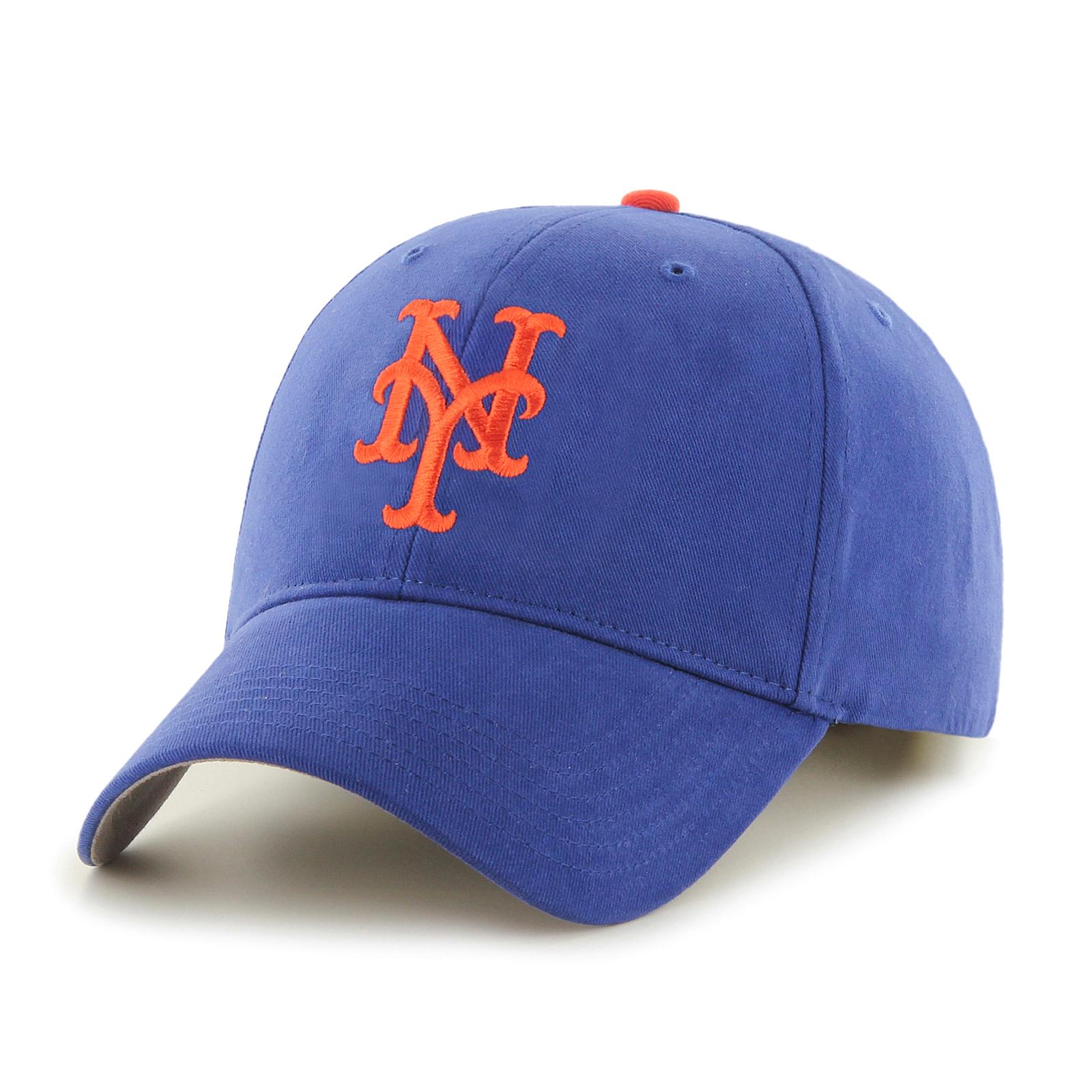 '47 Brand 47 Brand MLB Fan Favorite New York Mets Basic Cap PartNumber: 00644100000P KsnValue: 00644100000 MfgPartNumber: 188592