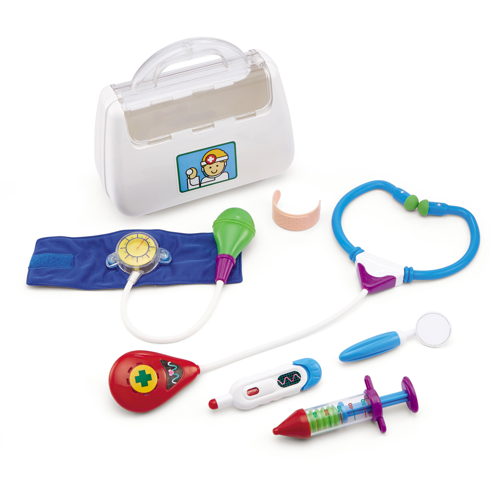 Toy Doctor Kit : International playthings kidoozie little doctor kit
