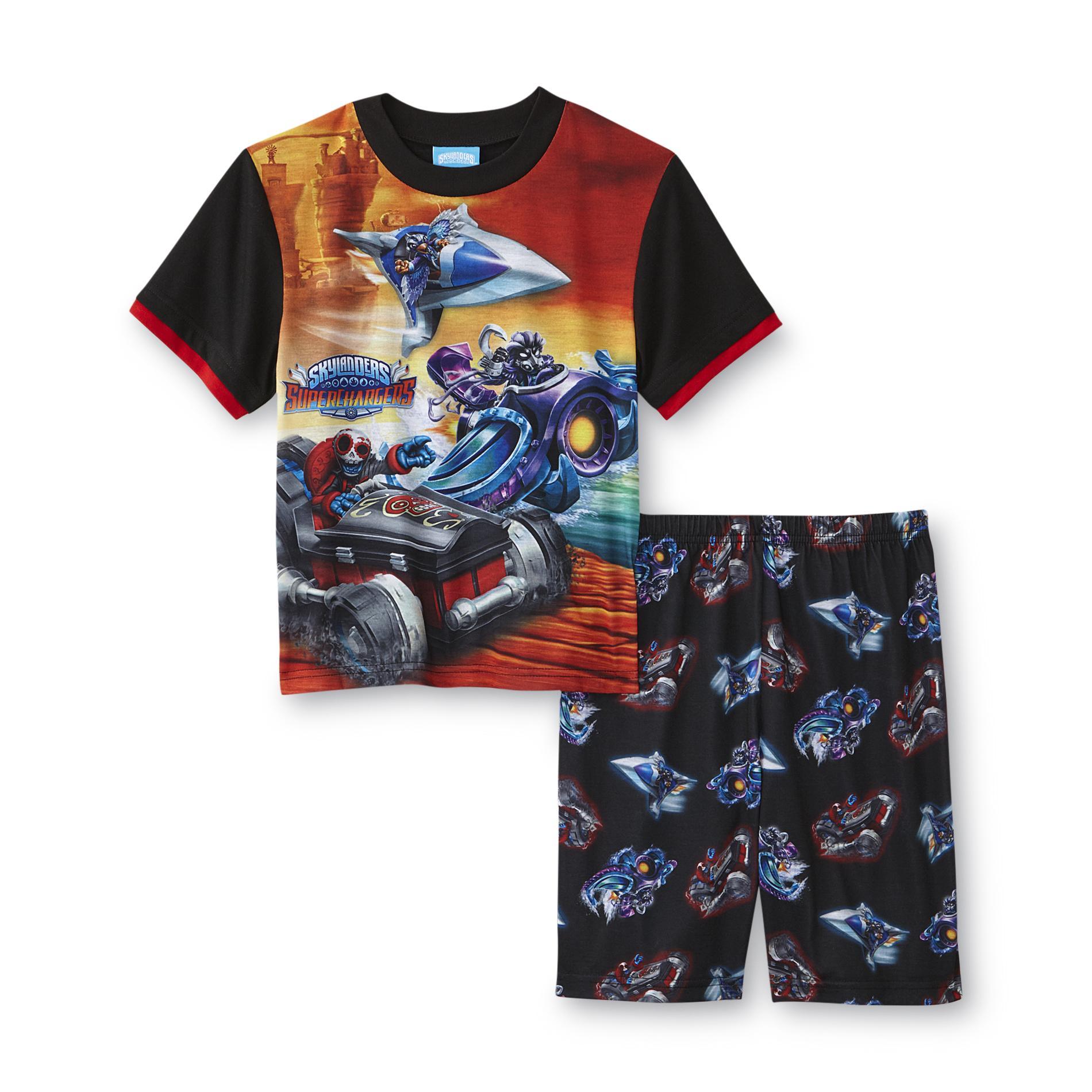 Activision Skylanders SuperChargers Boy's Pajama Shirt & Shorts