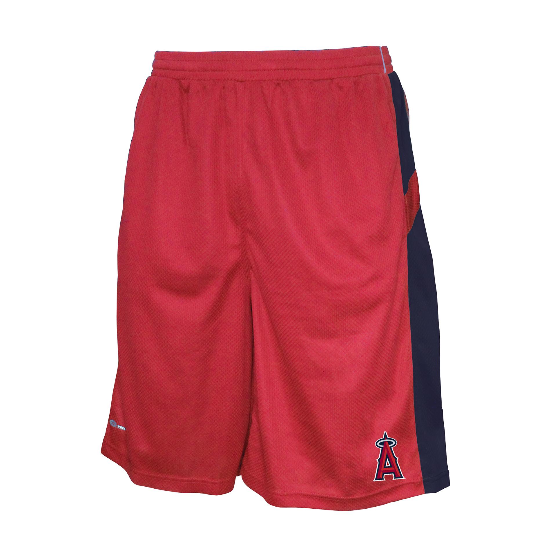 MLB Los Angeles Angels of Anaheim Mesh Shorts