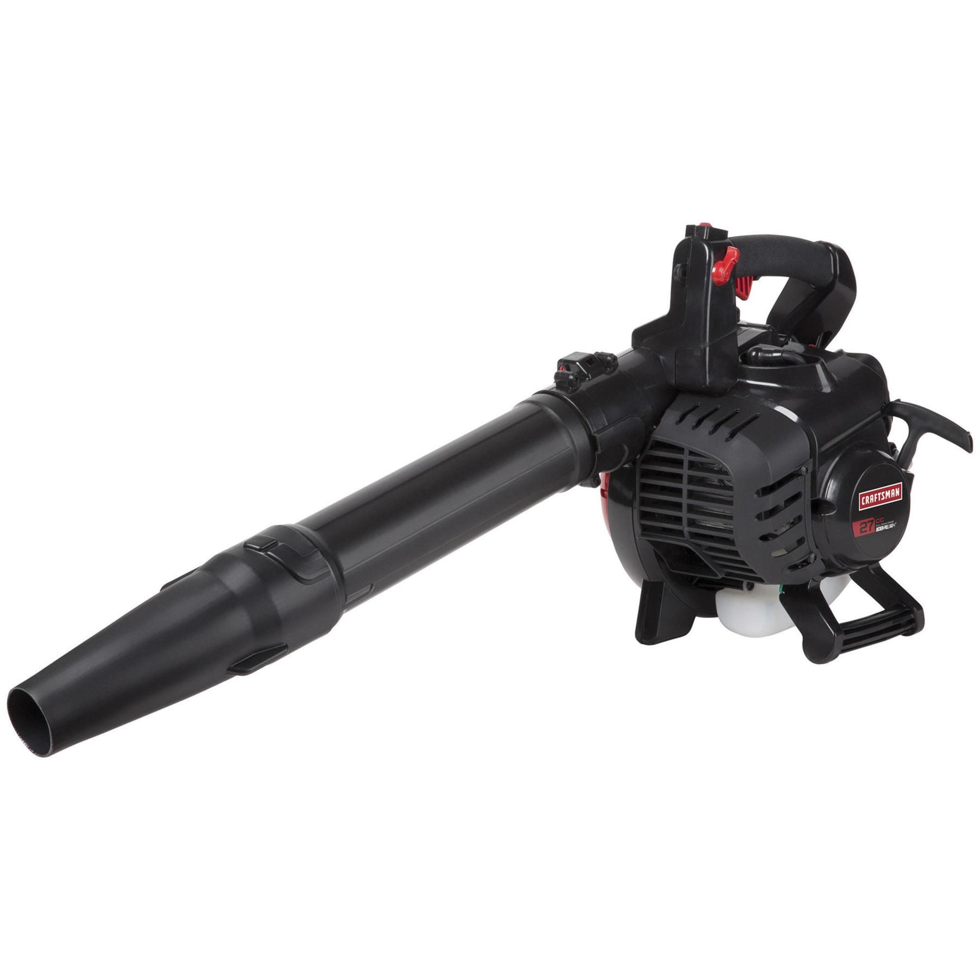 Image of Craftsman 41BS2HBC799 27cc Gas Blower, Black