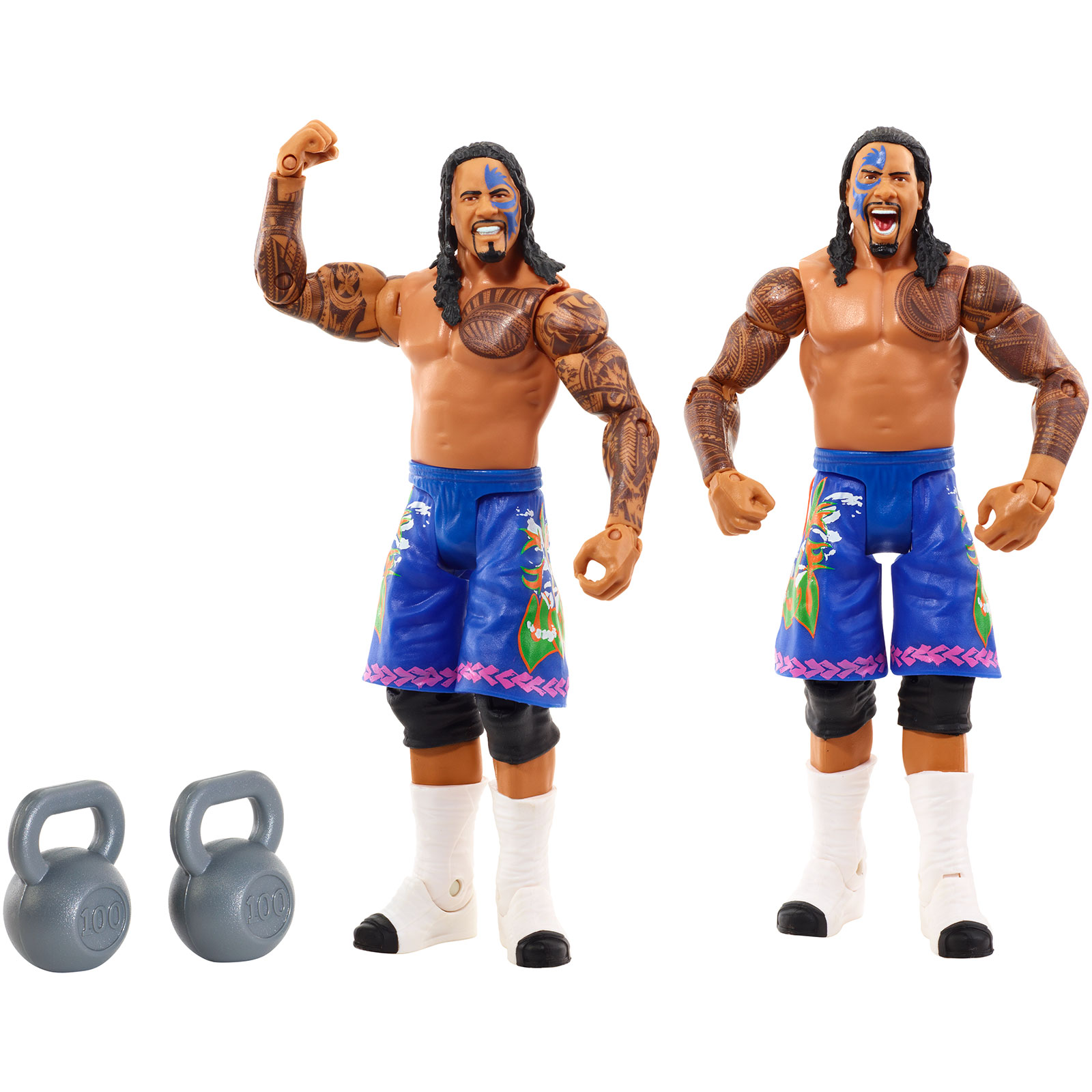 WWE Figure 2-Pack, Jey Uso & Jimmy Uso PartNumber: 004W001414304102P