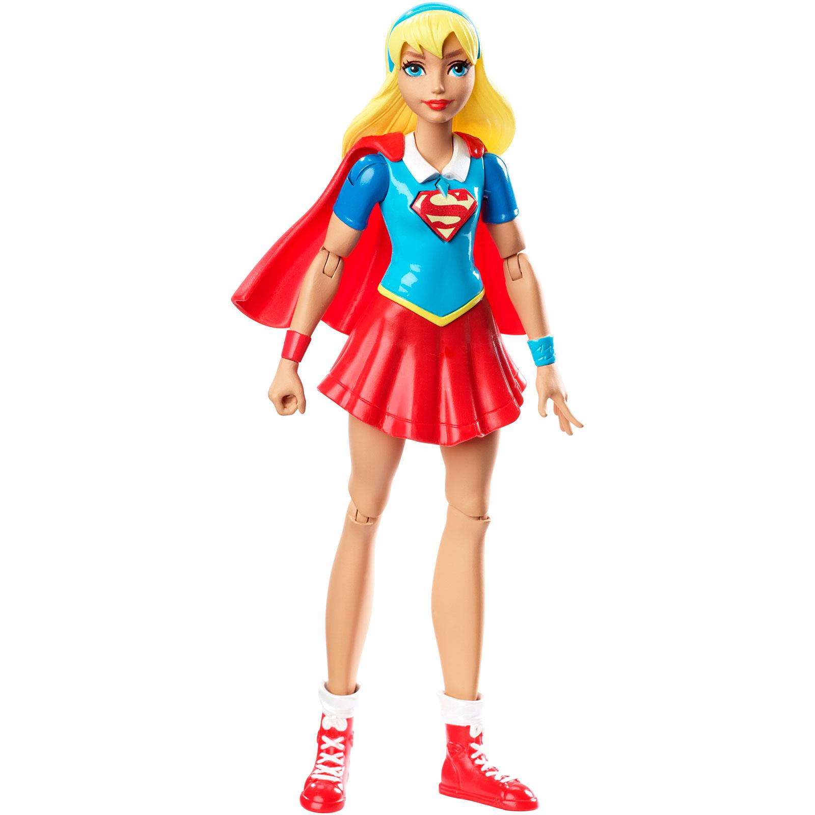 "DC Comics Super Hero Girls - Super Girl 6"" Action Figure PartNumber: 004W009105302002P KsnValue: 004W009105302002 MfgPartNumber: DMM32"