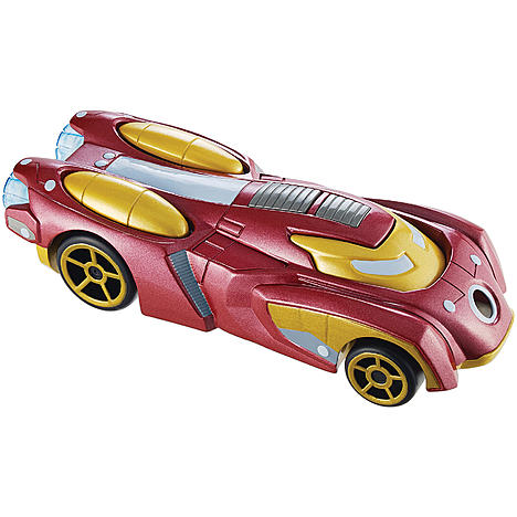 hot wheels marvel character car iron man toys games. Black Bedroom Furniture Sets. Home Design Ideas